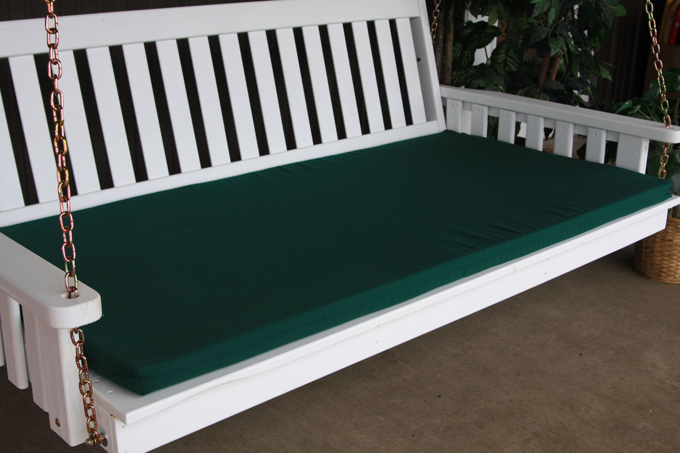Indoor/Outdoor Bench Cushion Size: 55