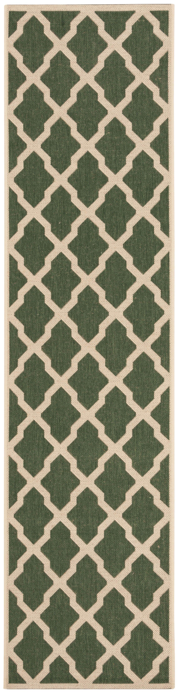Cashion Green/Cream Area Rug Rug Size: Square 6'7