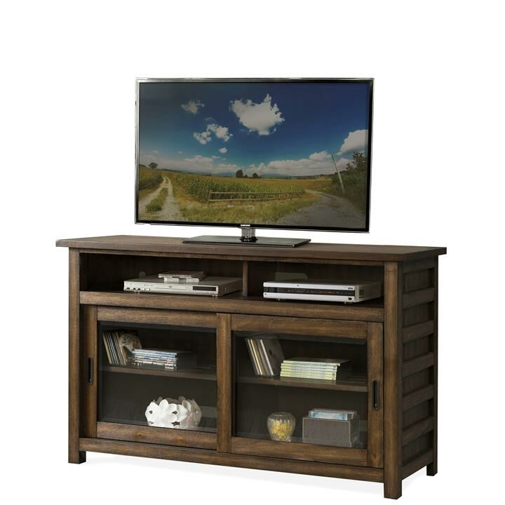 Arbyrd TV Stand Color: Ebonized Acacia, Width of TV Stand: 64