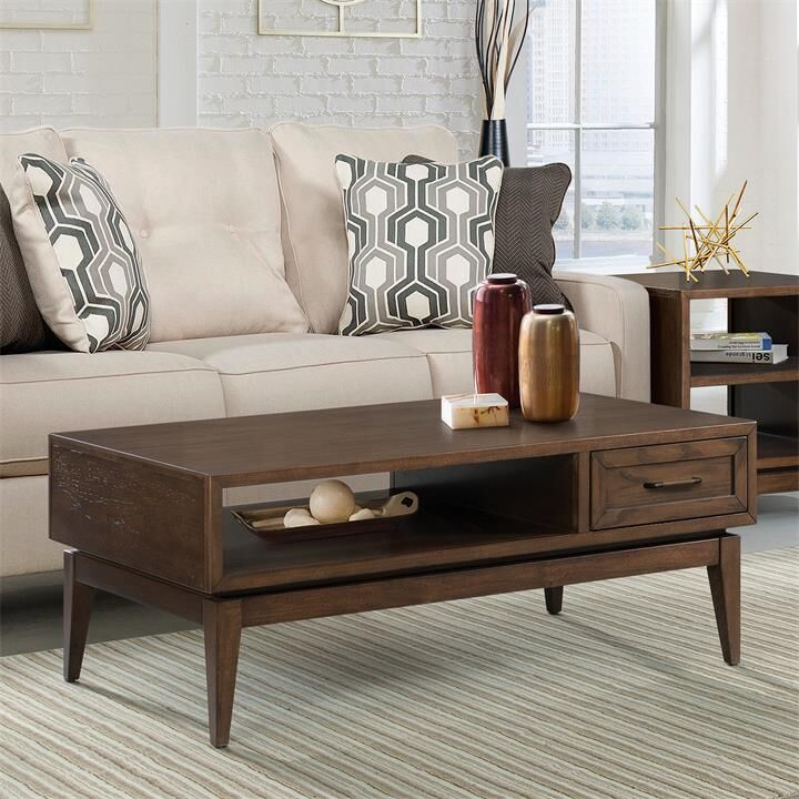 Workman Coffee Table Color: Plymouth Brown Oak