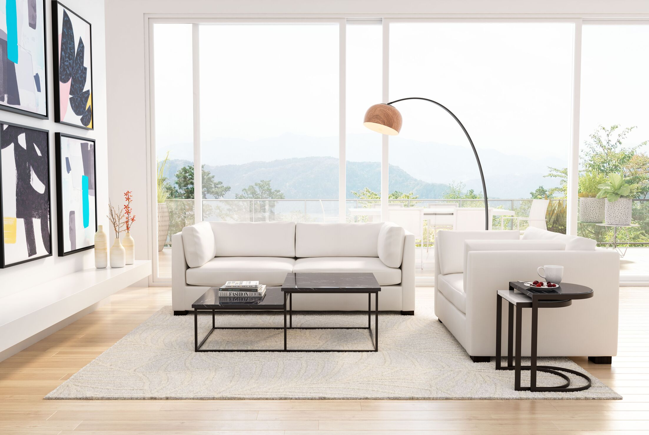 Clemence 3 Piece Coffee Table Set