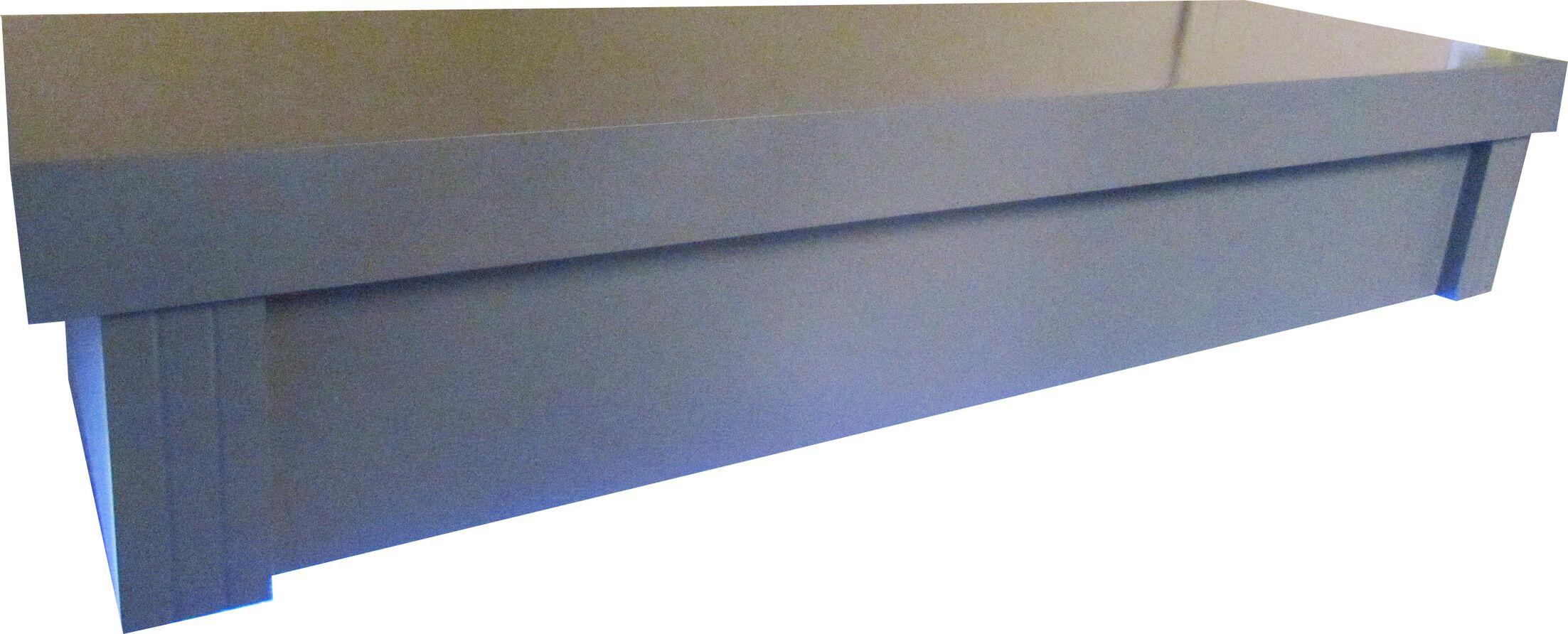 Grey Modern Birch Aquarium Canopy