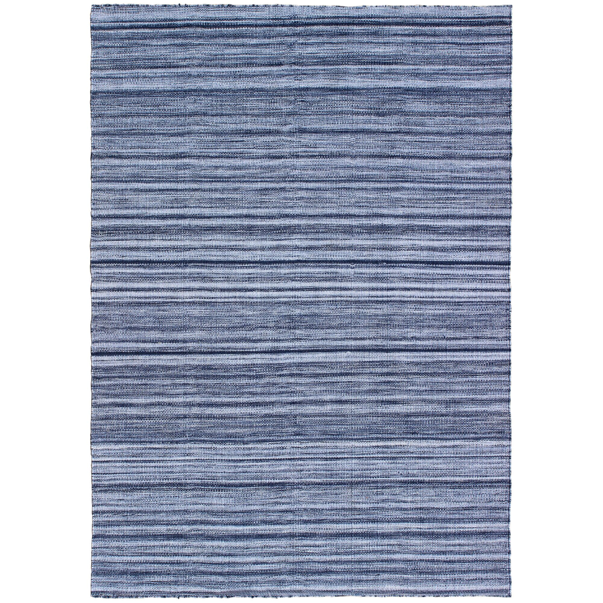 Englund Ombre Hand-Woven Blue Indoor/Outdoor Area Rug Rug Size: Rectangle 5' x 7'6