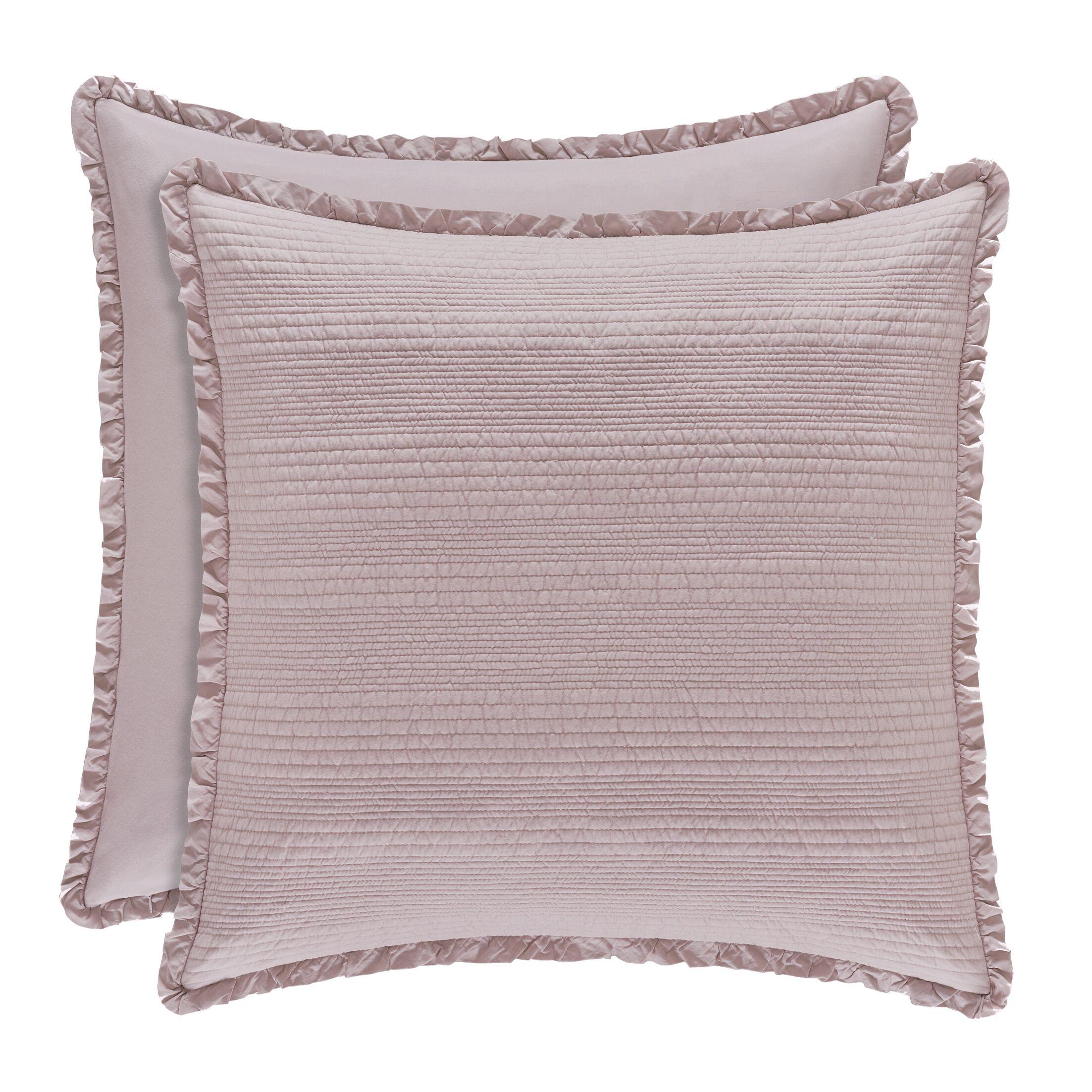 Leavell Sham Color: Lavender, Size: Standard
