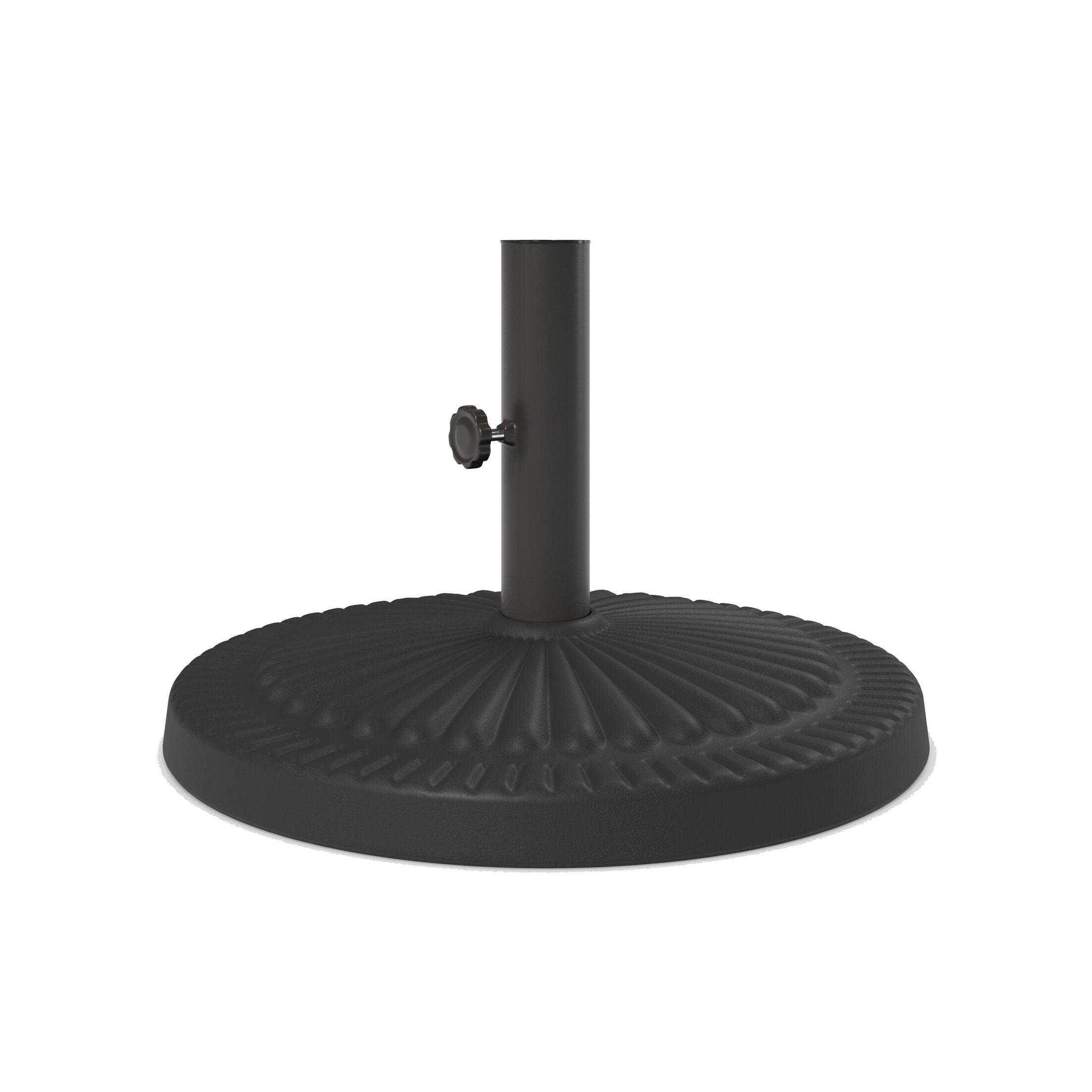 Cashin Steel Free Standing Umbrella Base