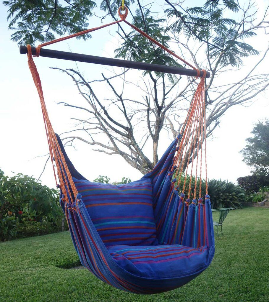 Barfield Hammock Chair Color: Relaxing Tides