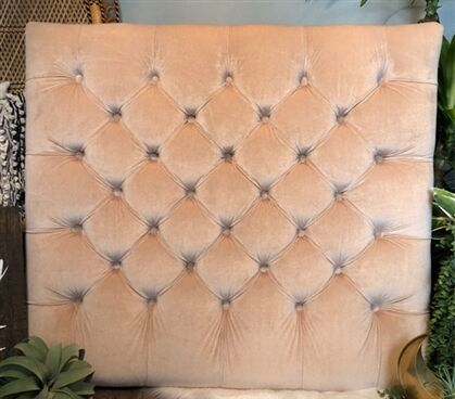Honig Diamond Tufted Twin/Twin XL Upholstered�Panel Headboard Upholstery: Tan