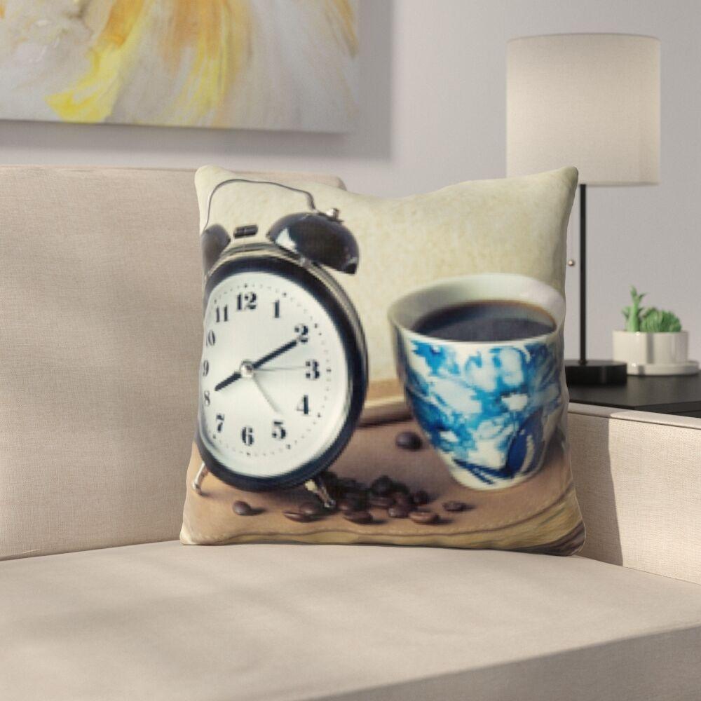 Konieczny Coffee Time Throw Pillow