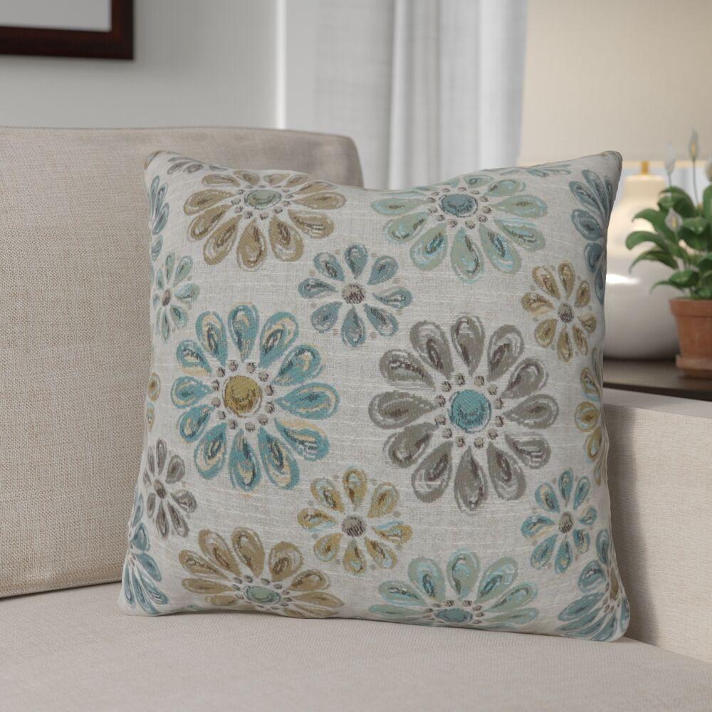 Lerwick Vintage Indoor Throw Pillow Size: 22
