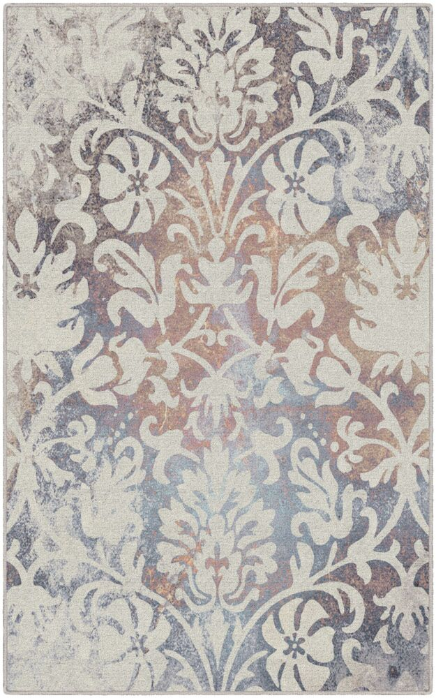 Messerly Antique Scroll Cream Area Rug Rug Size: Rectangle 5' x 8'