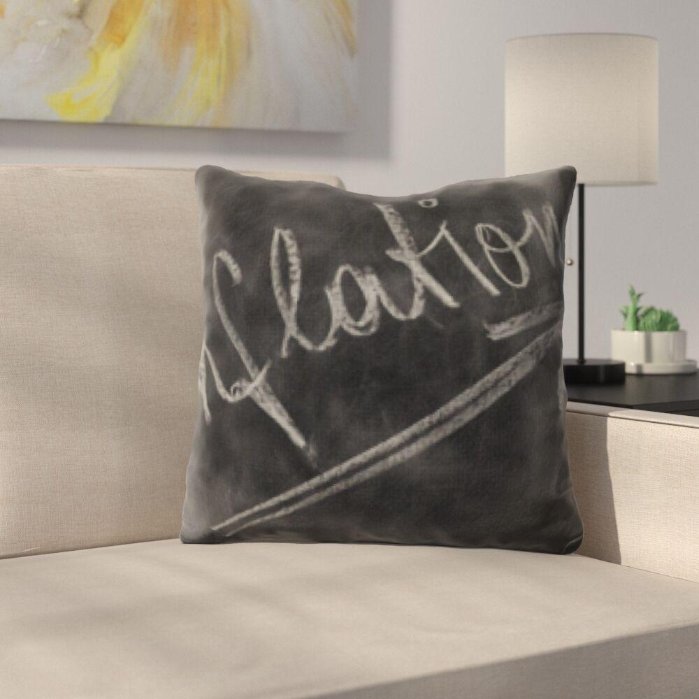 Kutz Formula Inflation Throw Pillow