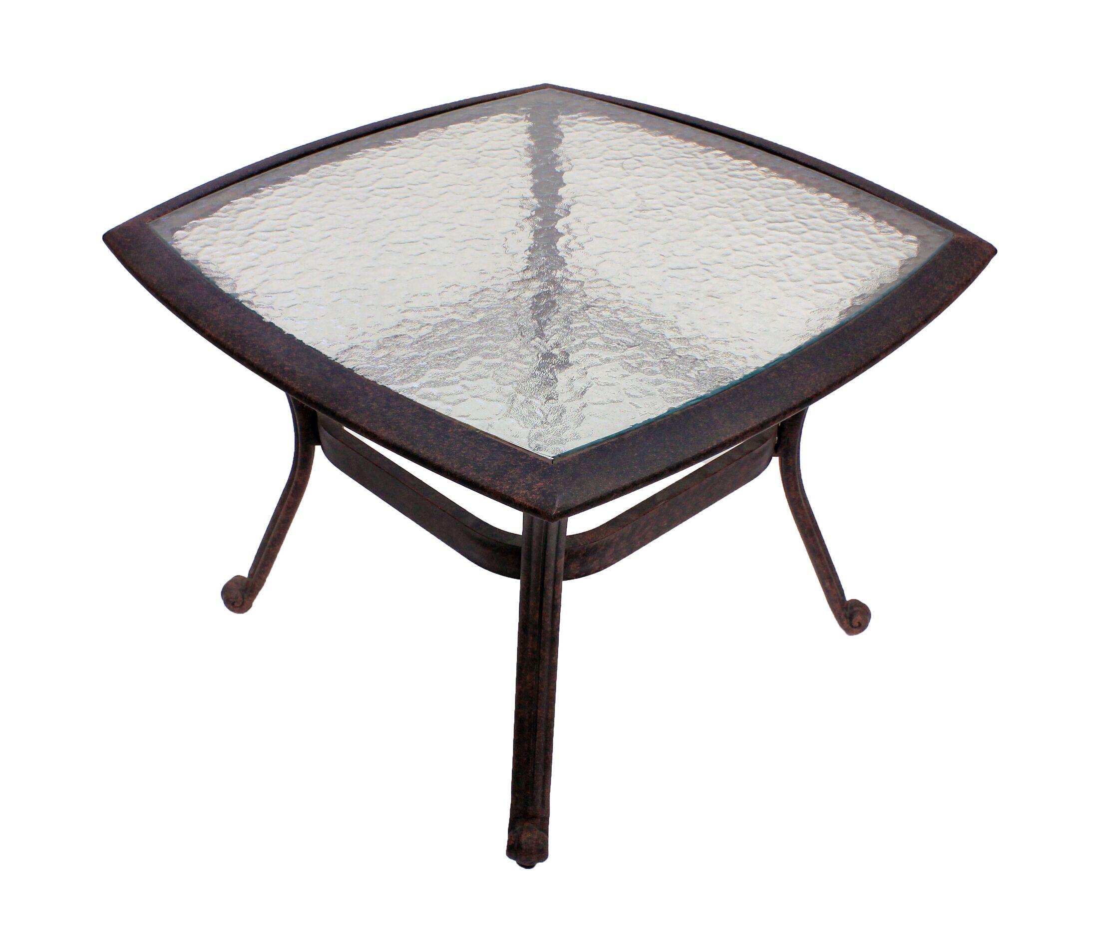 Massimo Glass Bistro Table