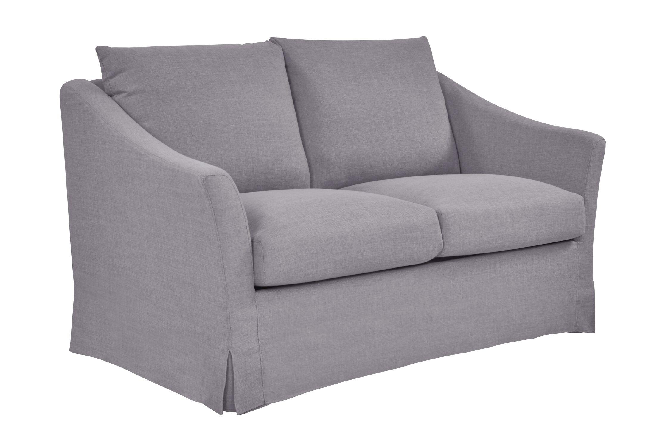 Tomlin Loveseat Upholstery: Fog