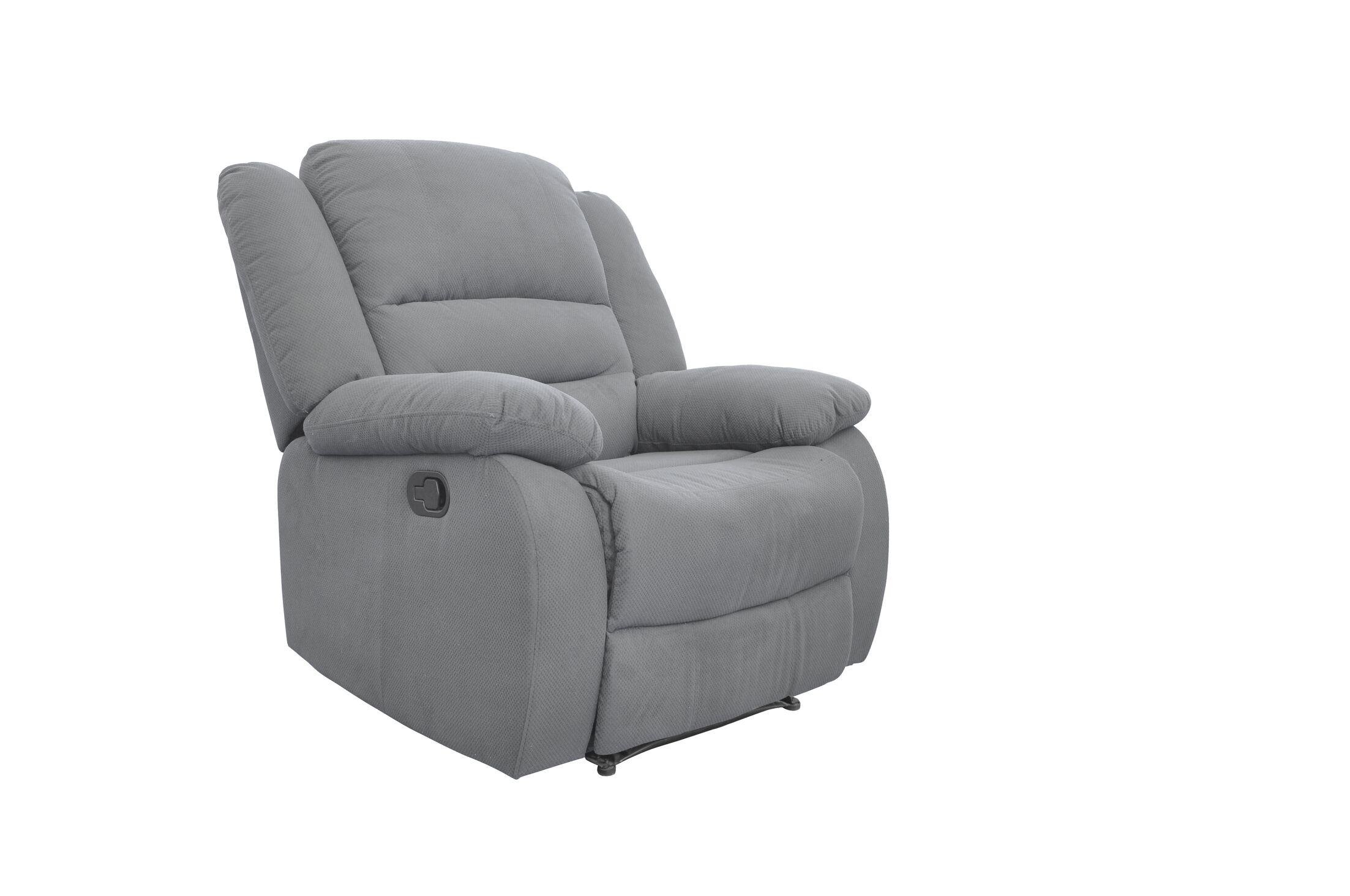 Essex Street Reclining  2 Piece Living Room Set Upholstery: Blue Gray