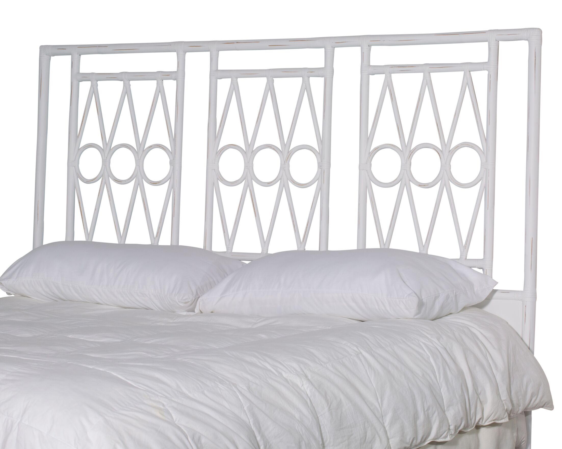 Michelle Headboard Size: King, Color: Ice