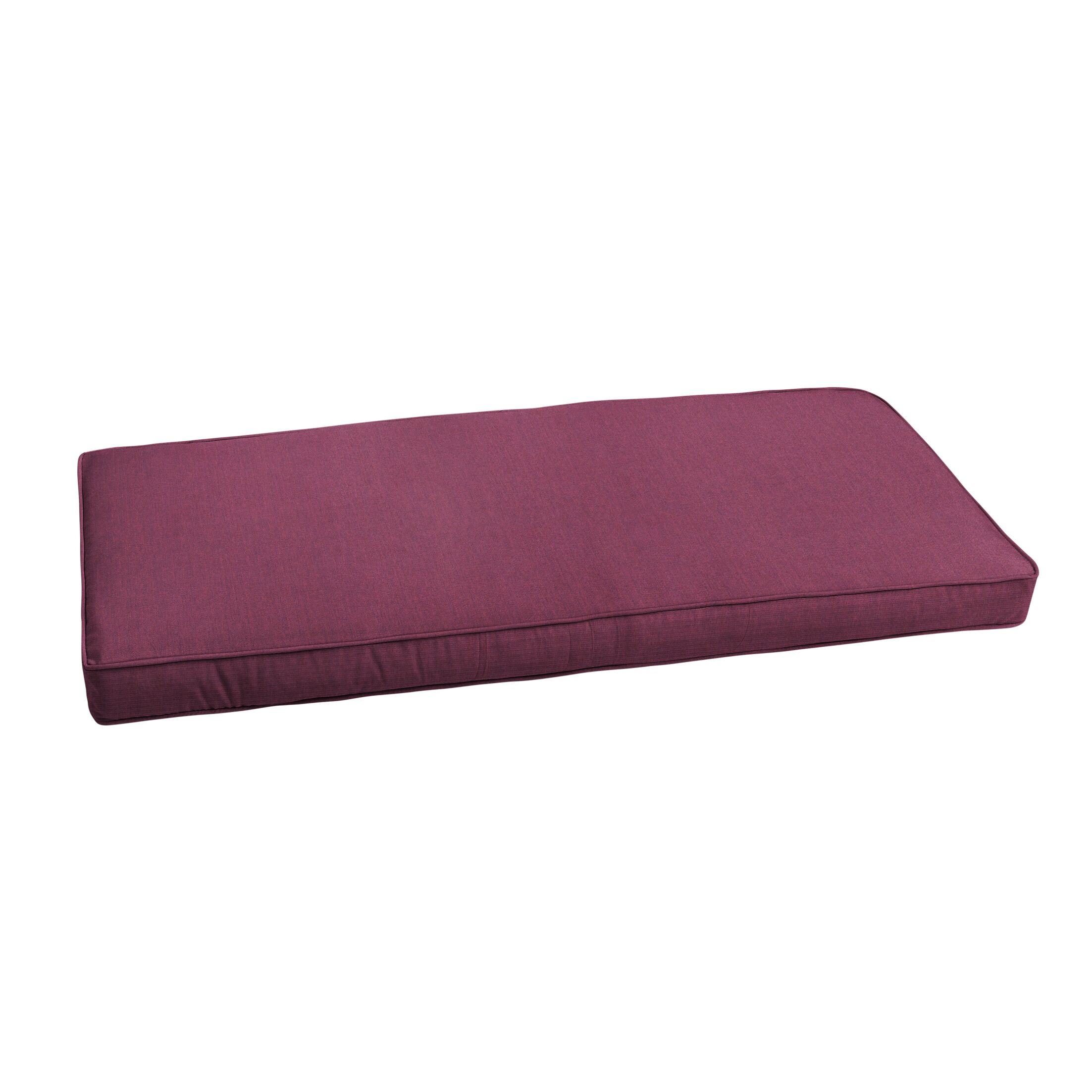Outdoor Sunbrella Bench Cushion Size: 43