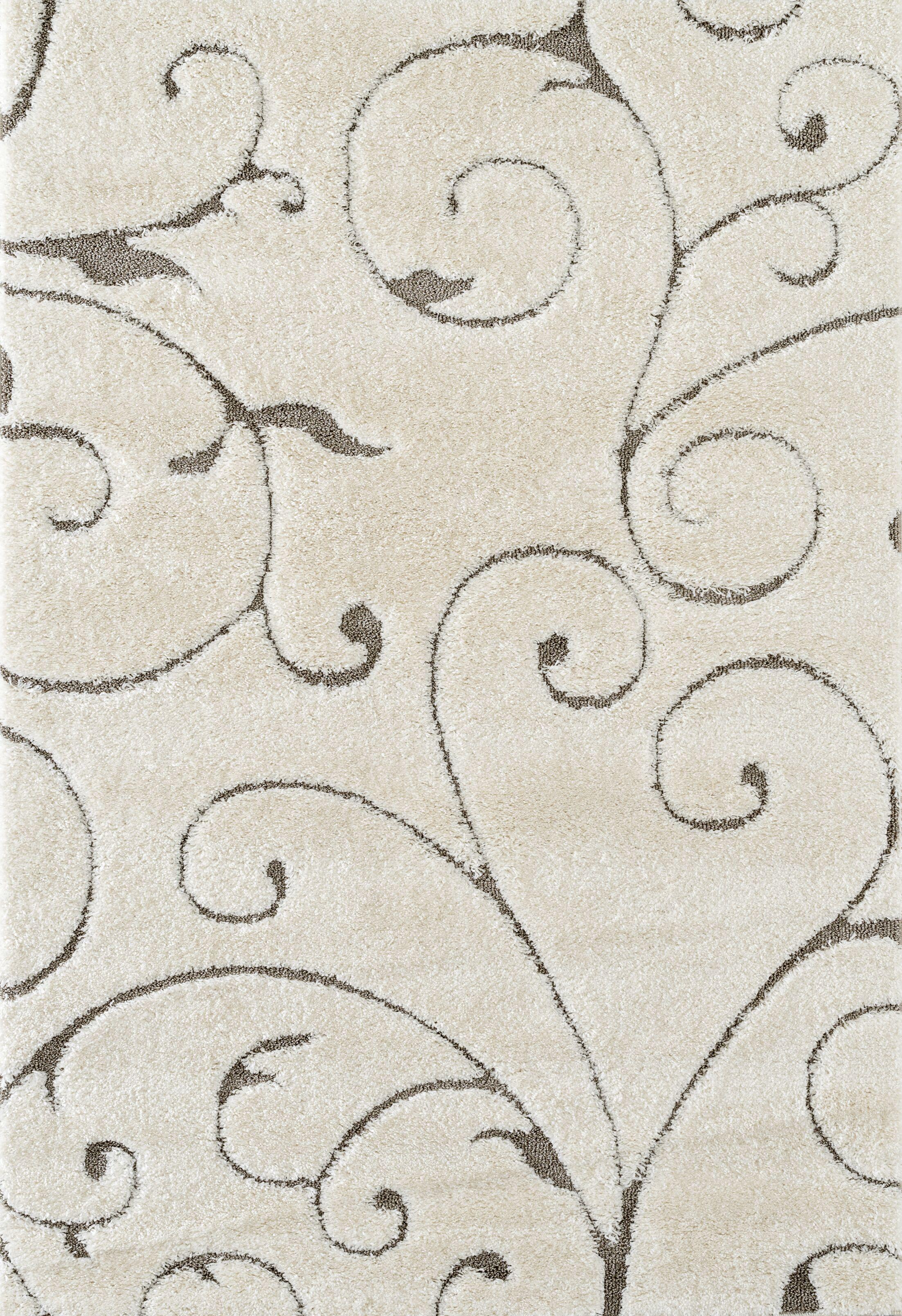 Dostie Cream Area Rug Rug Size: Rectangle 7'9