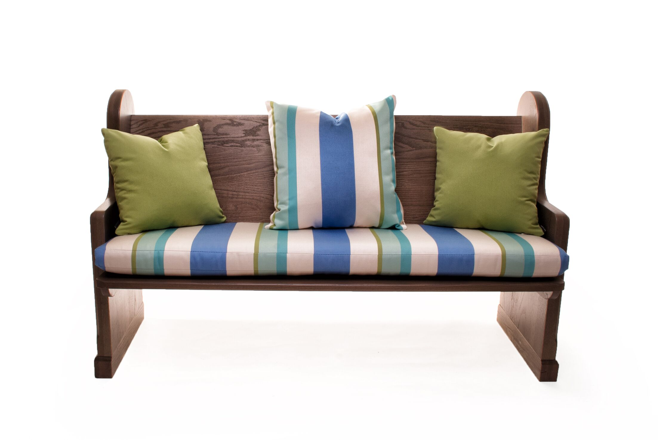Indoor/Outdoor Sunbrella Bench Cushion
