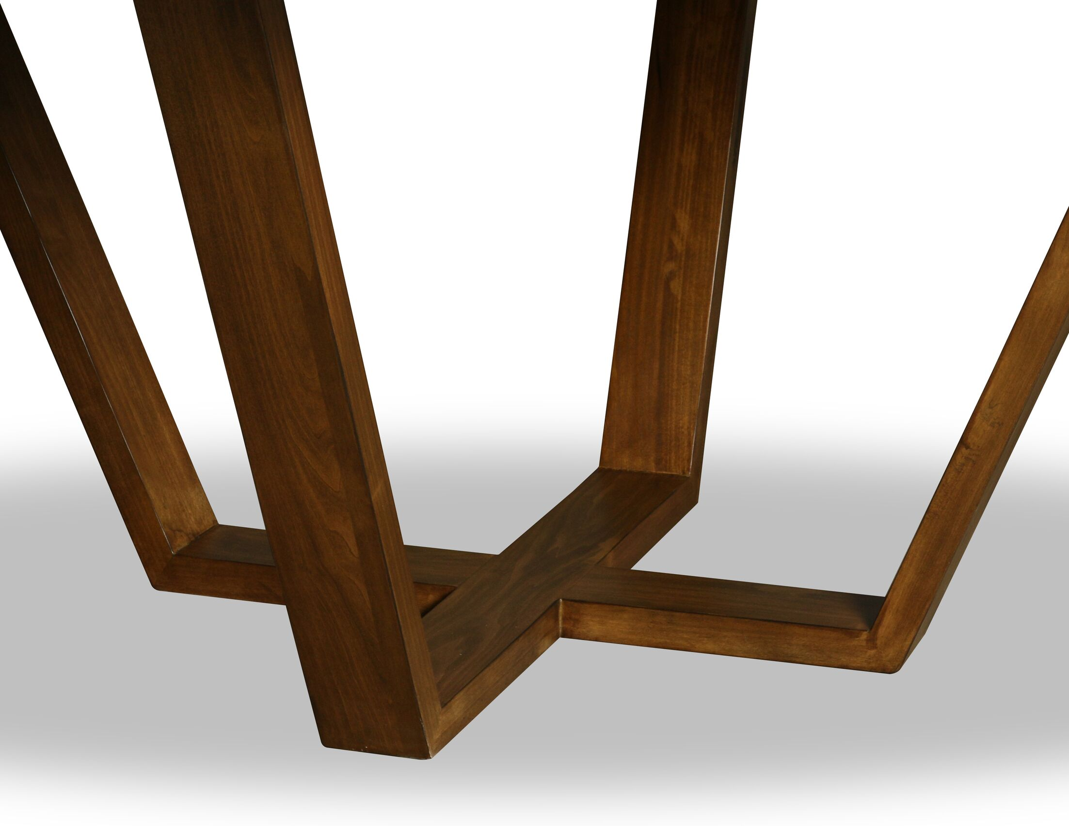 Macarthur Solid Wood Dining Table Color: Cognac, Size: 30