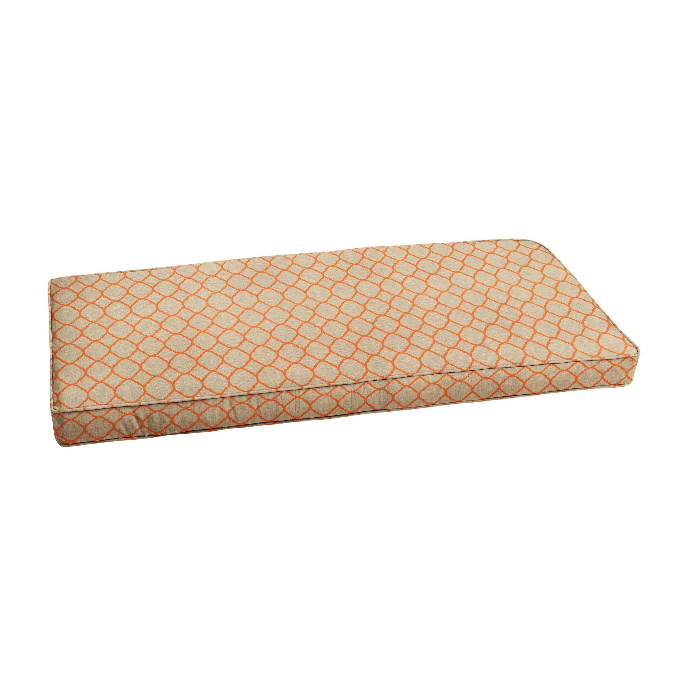 Indoor/Outdoor Sunbrella Bench Cushion Size: 40
