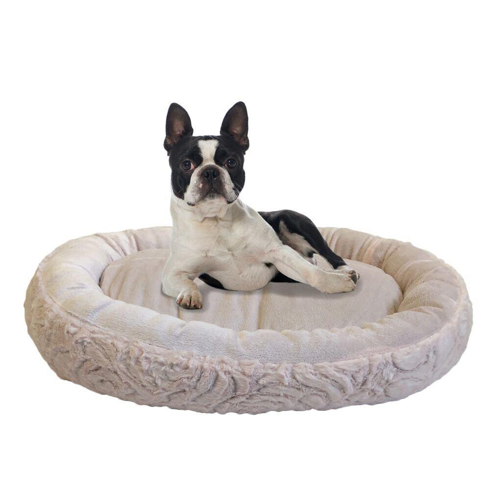 Eco Friendly Round Extra Plush Soft Dog Bolster
