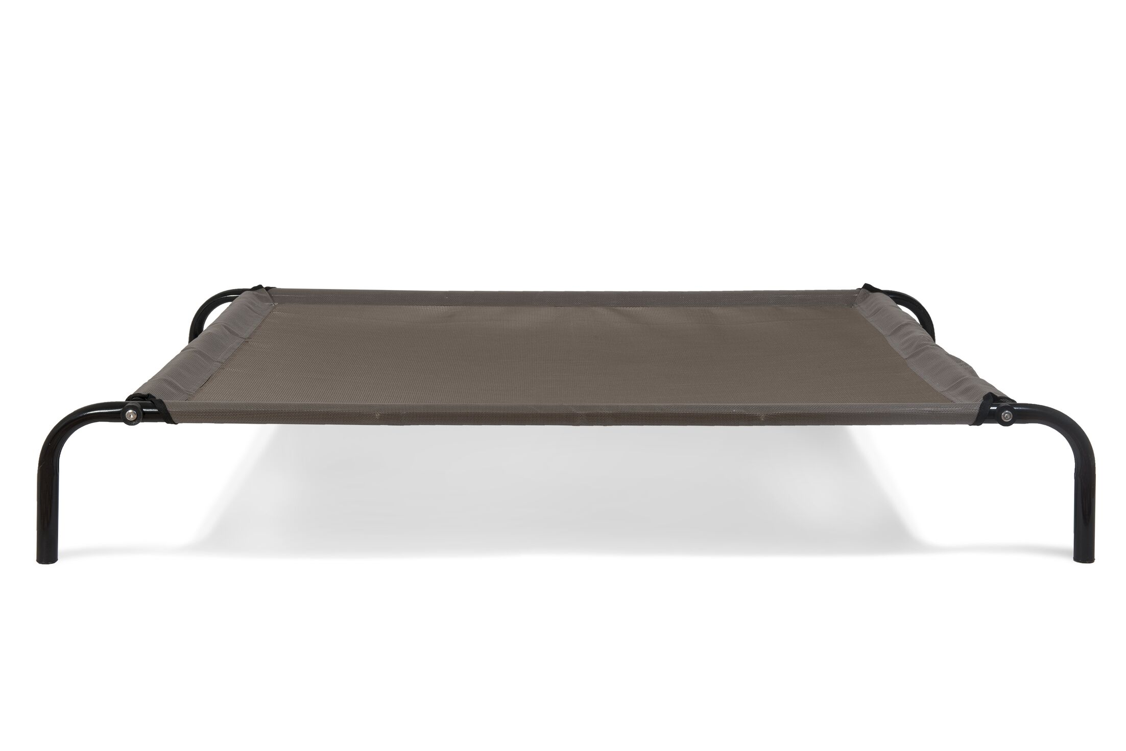 Elevated Reinforced Dog Cot Color: Espresso, Size: Small (25.25