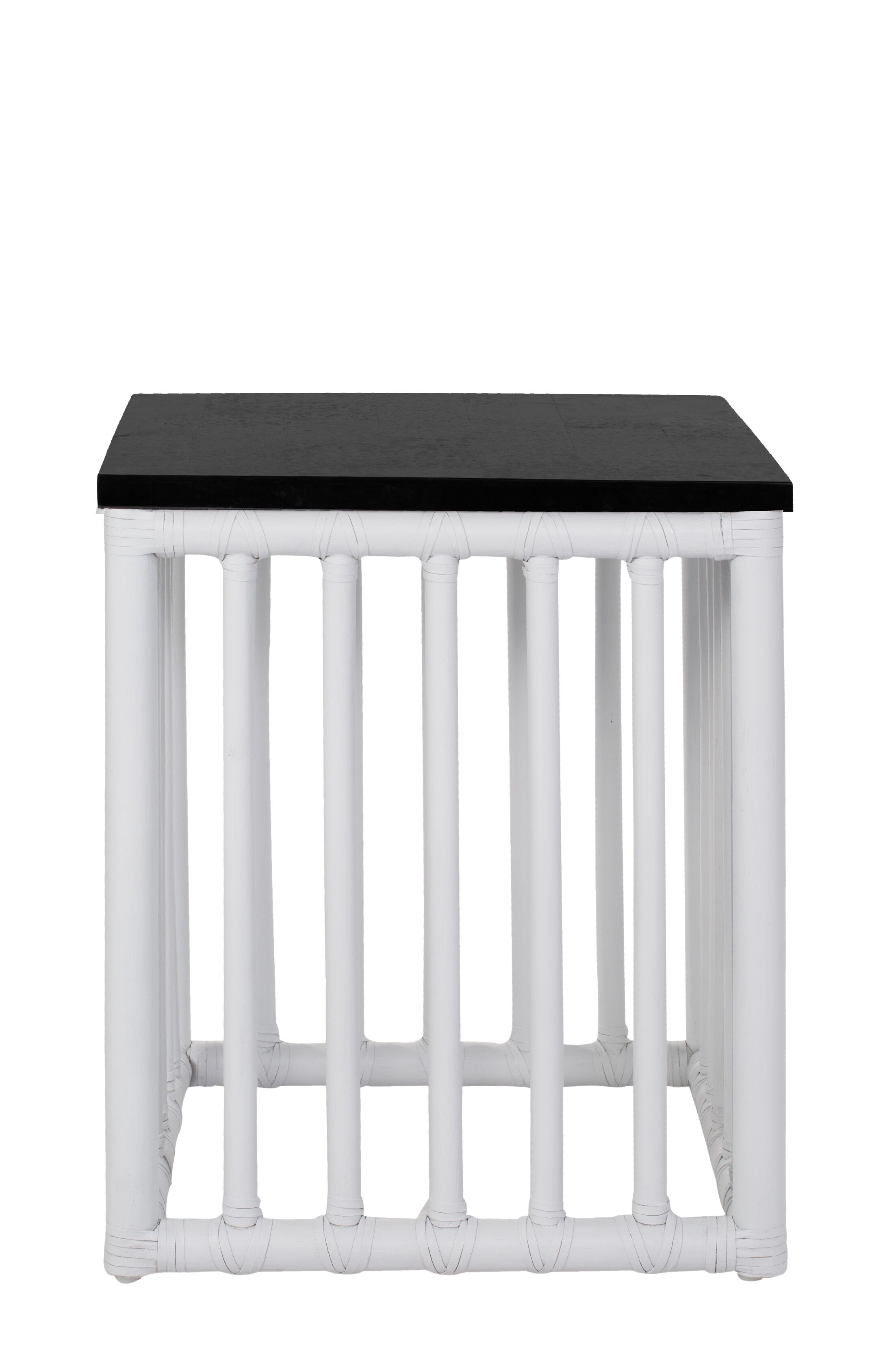 Coburn End Table Table Base Color: White