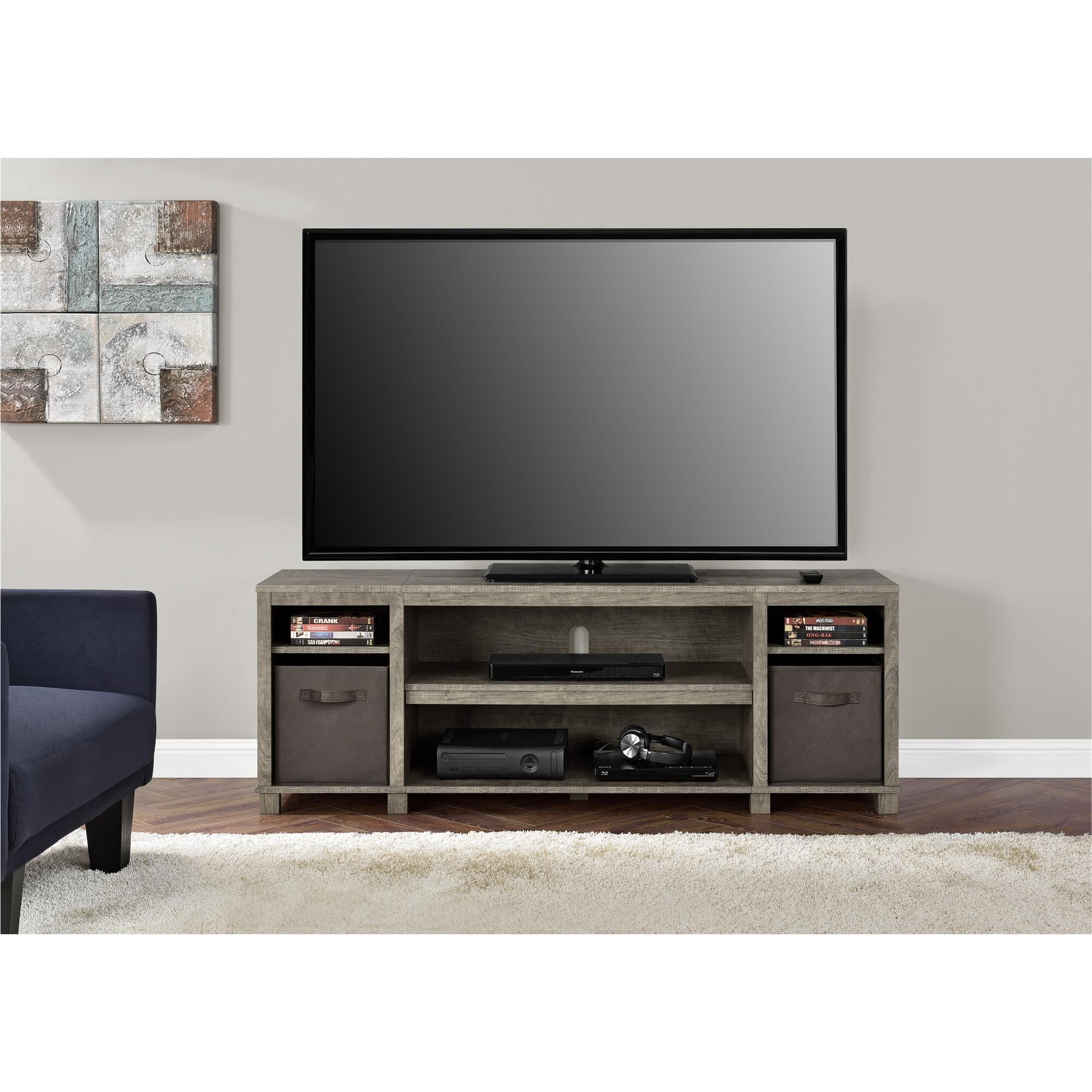 Napkin Ring 58'' TV Stand Color: Weathered Oak