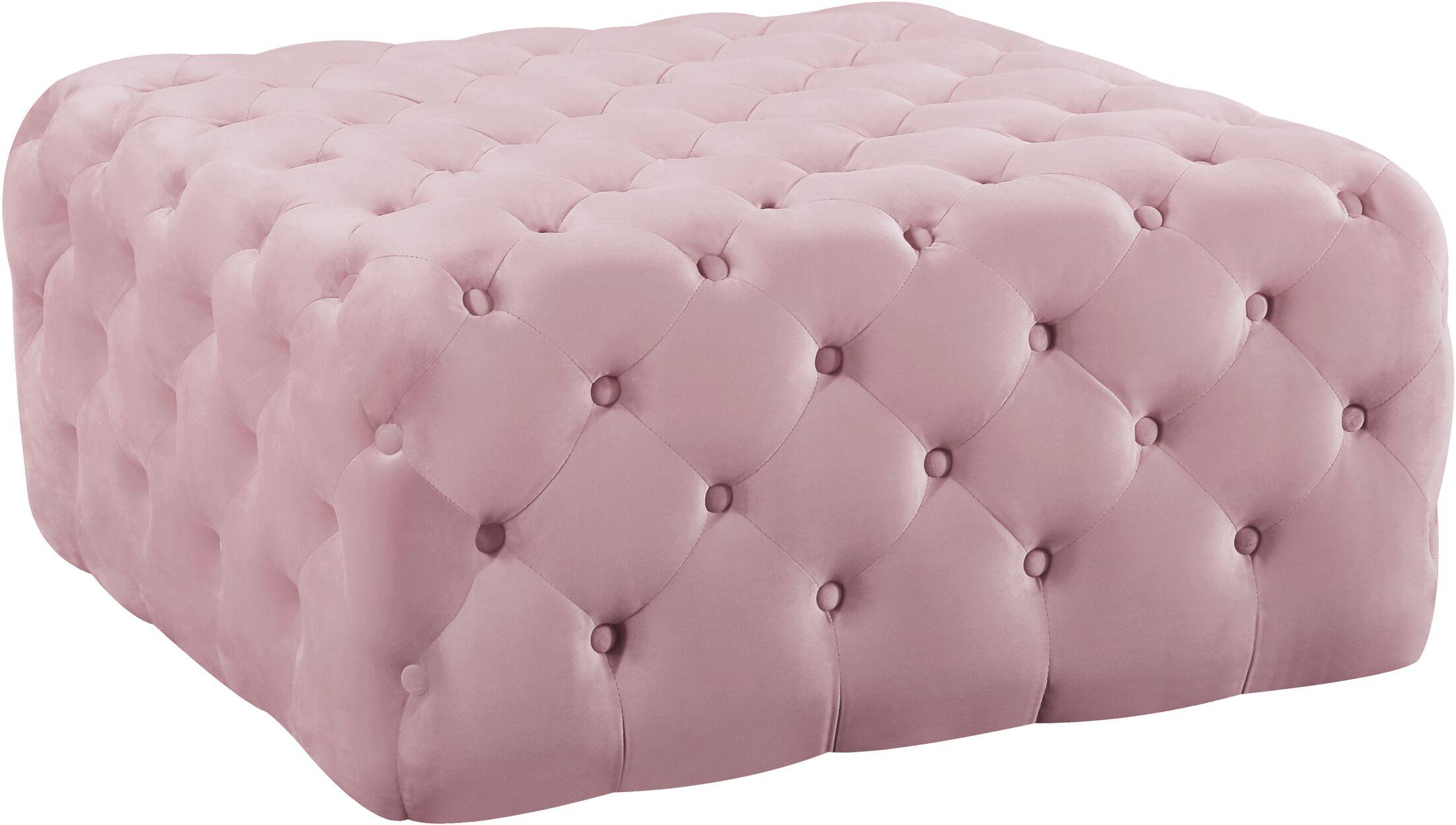Newbold Ottoman Upholstery: Pink