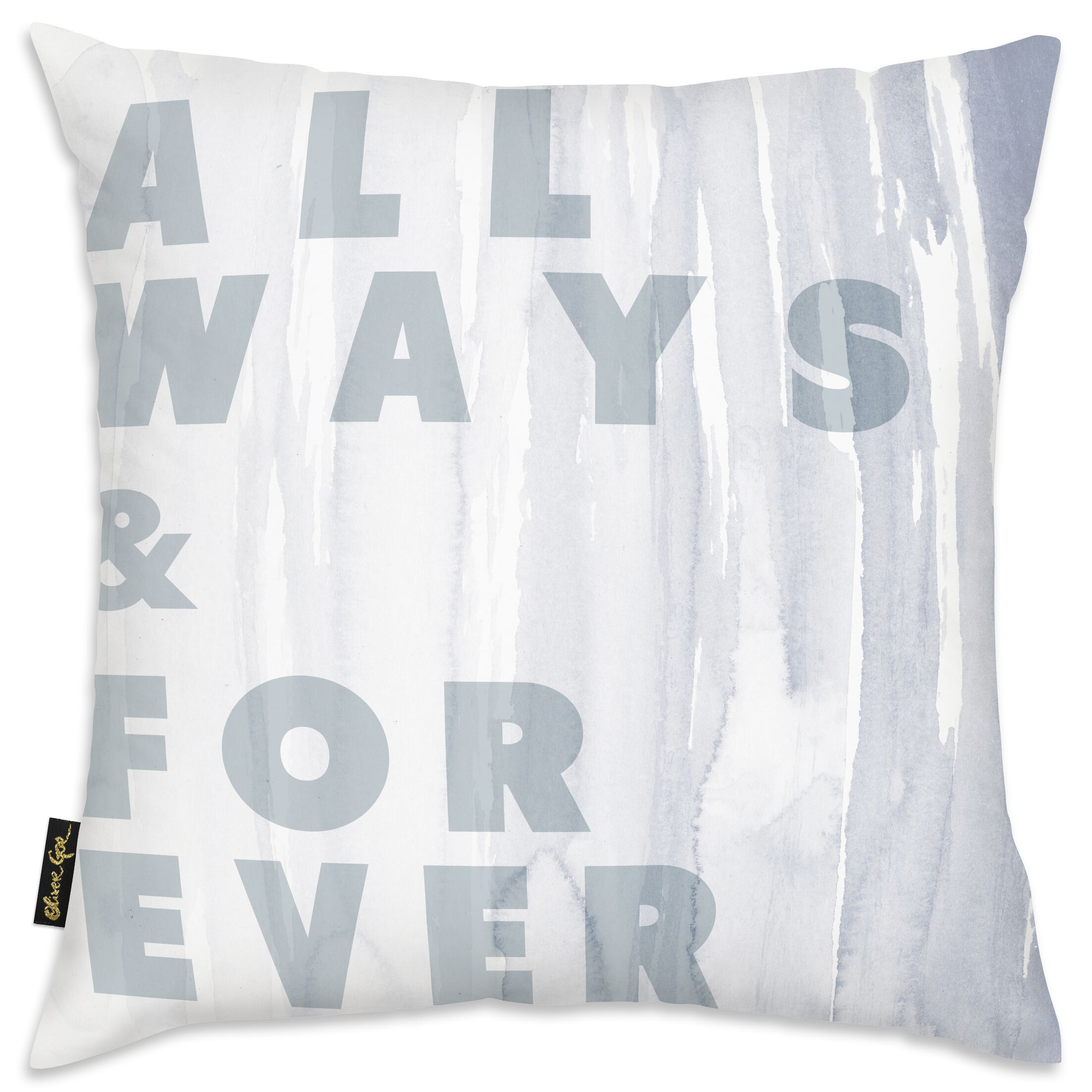 Govan Allways and Forever Throw Pillow