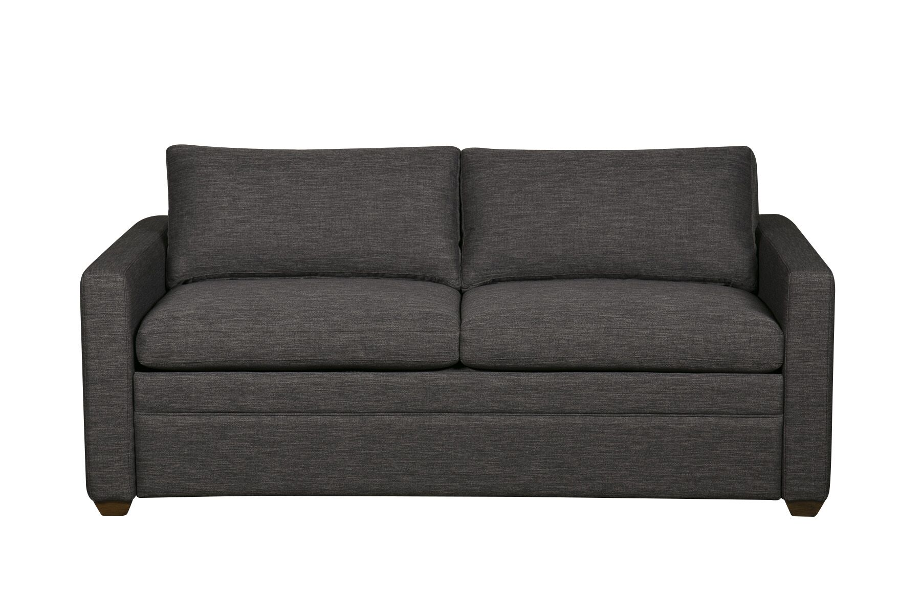 Rolette Sleeper Sofa Upholstery: Charcoal, Mattress Type: Full
