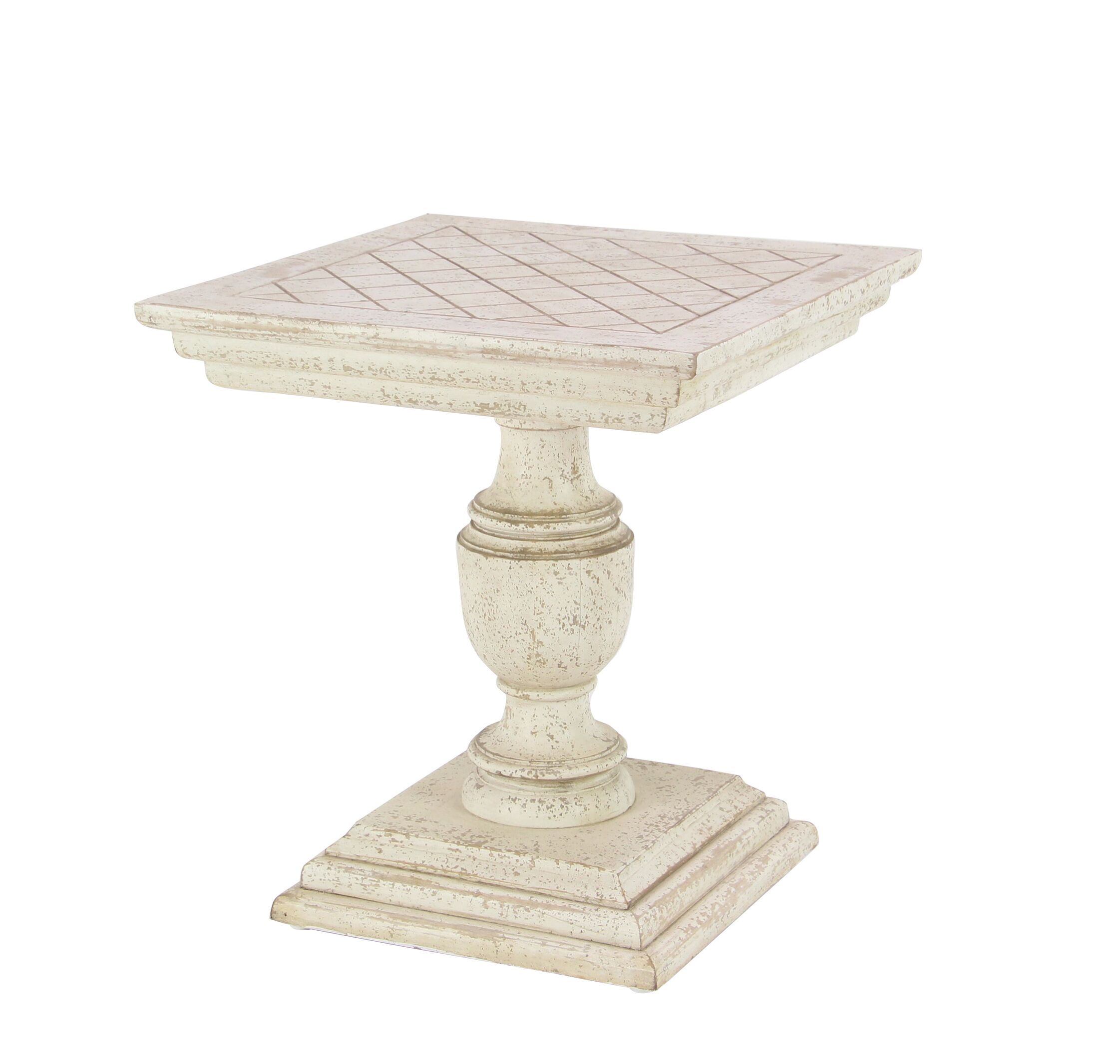 Marylebone Traditional Mango Wood End Table