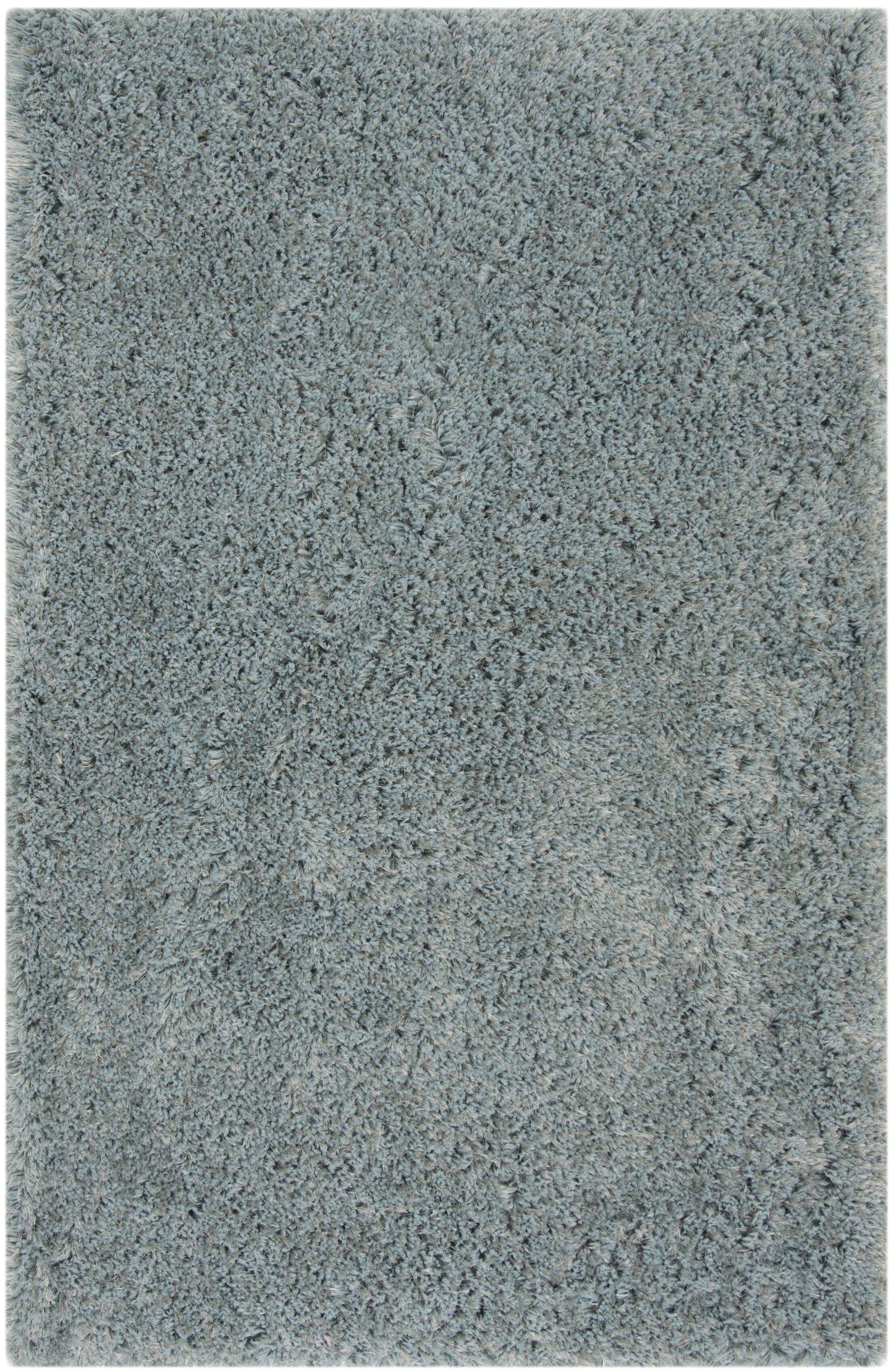 Loyola Shag Hand-Tufted Blue Area Rug Rug Size: Rectagnle 8' x 10'