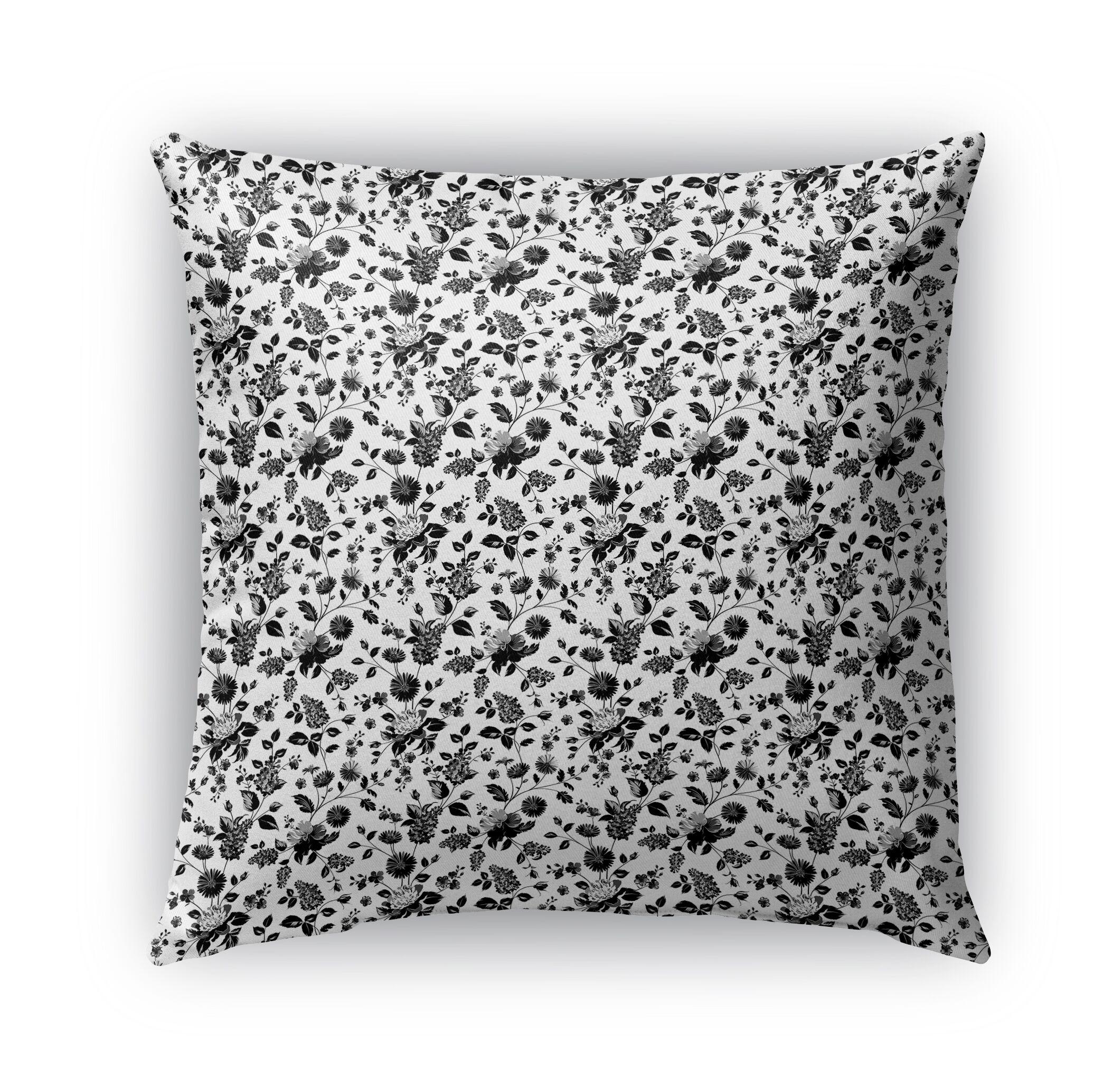 Braylin Bunch Indoor/Outdoor Throw Pillow Size: 18
