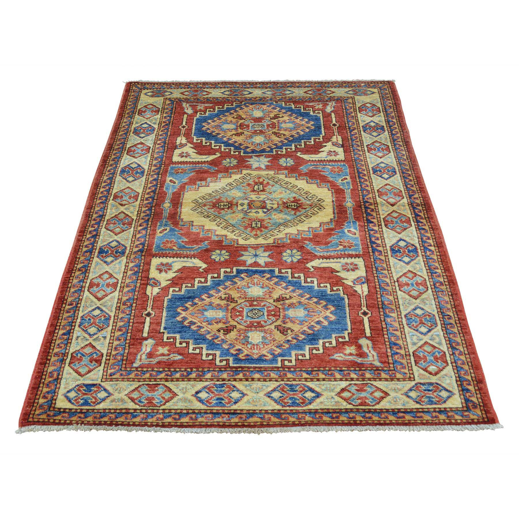 One-of-a-Kind Tillett Super Hand-Knotted Red Area Rug
