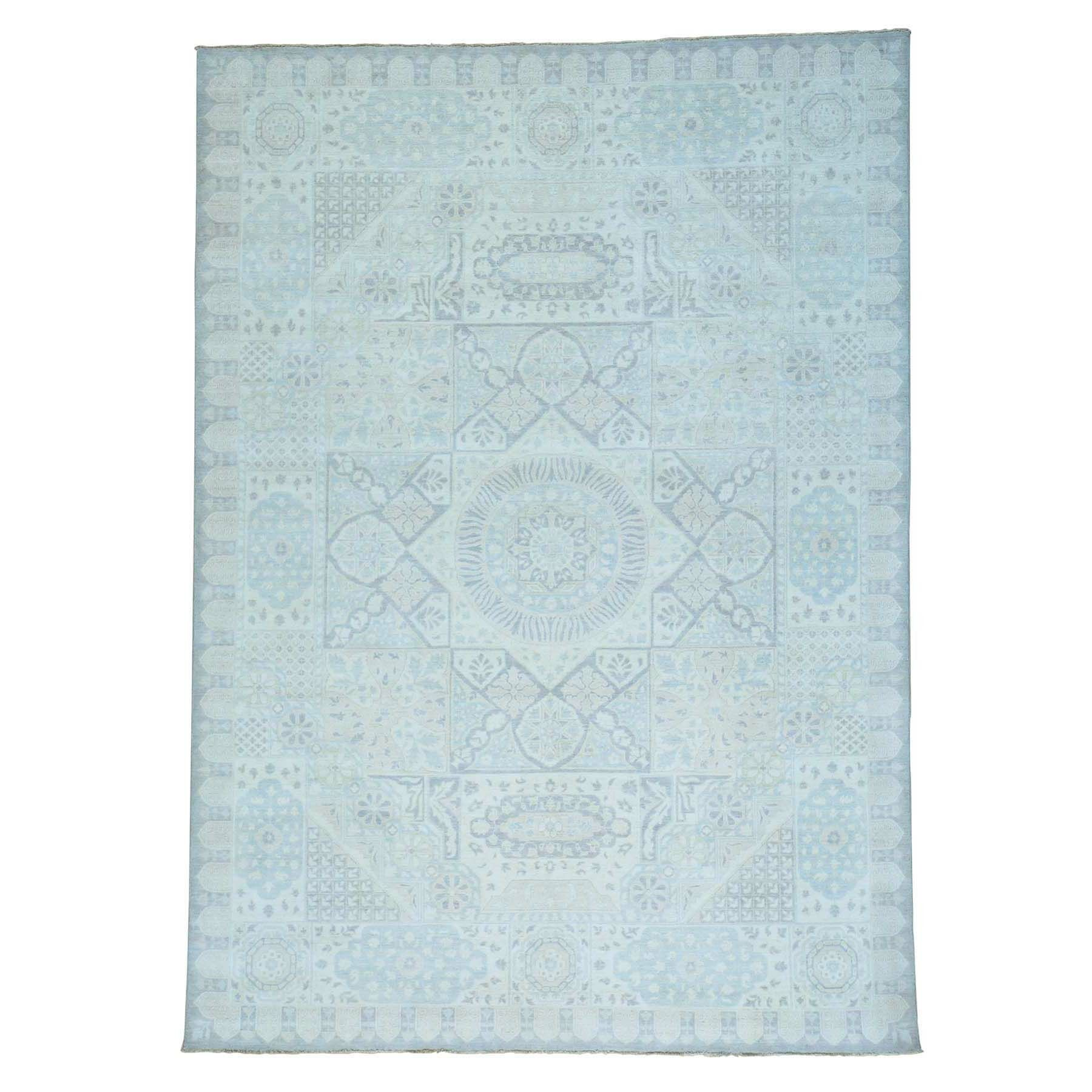 One-of-a-Kind Grasser Oidized Sample Hand-Knotted Ivory Area Rug