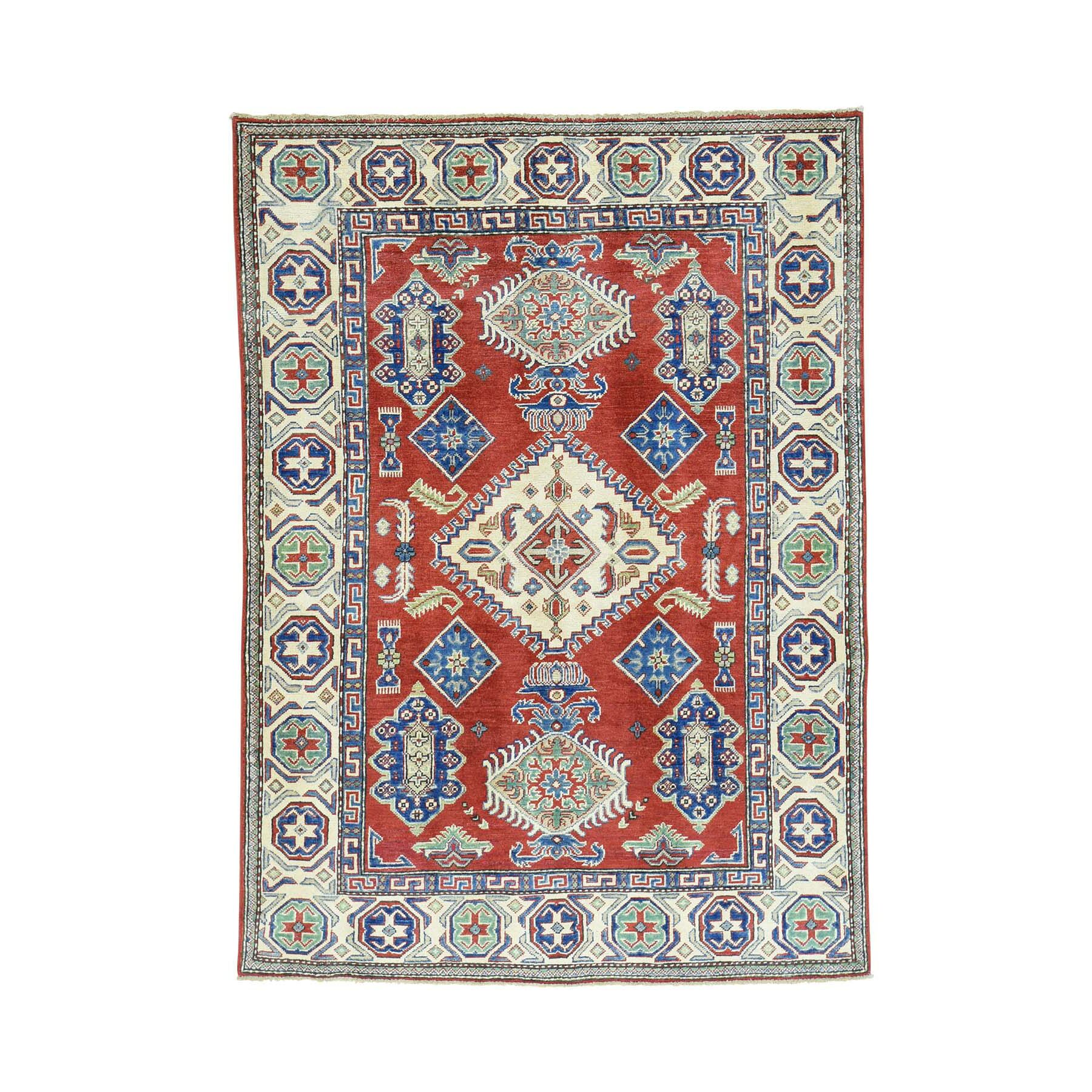 One-of-a-Kind Lawerence Hand-Knotted Red Area Rug
