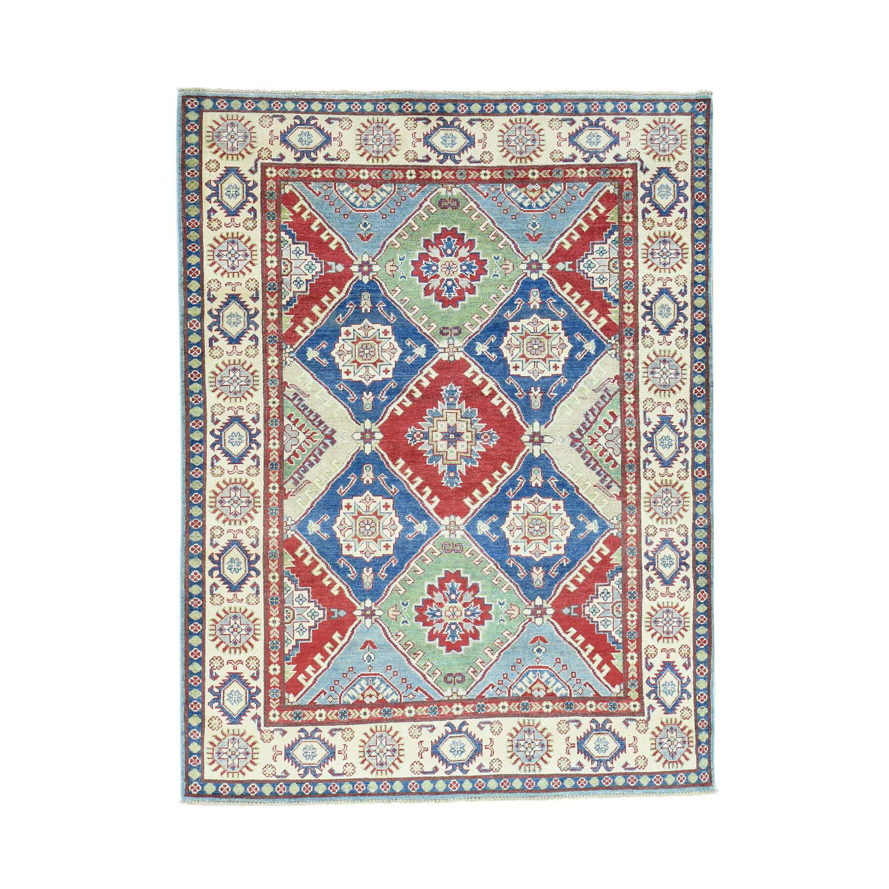 One-of-a-Kind Tillotson Hand-Knotted Beige Area Rug