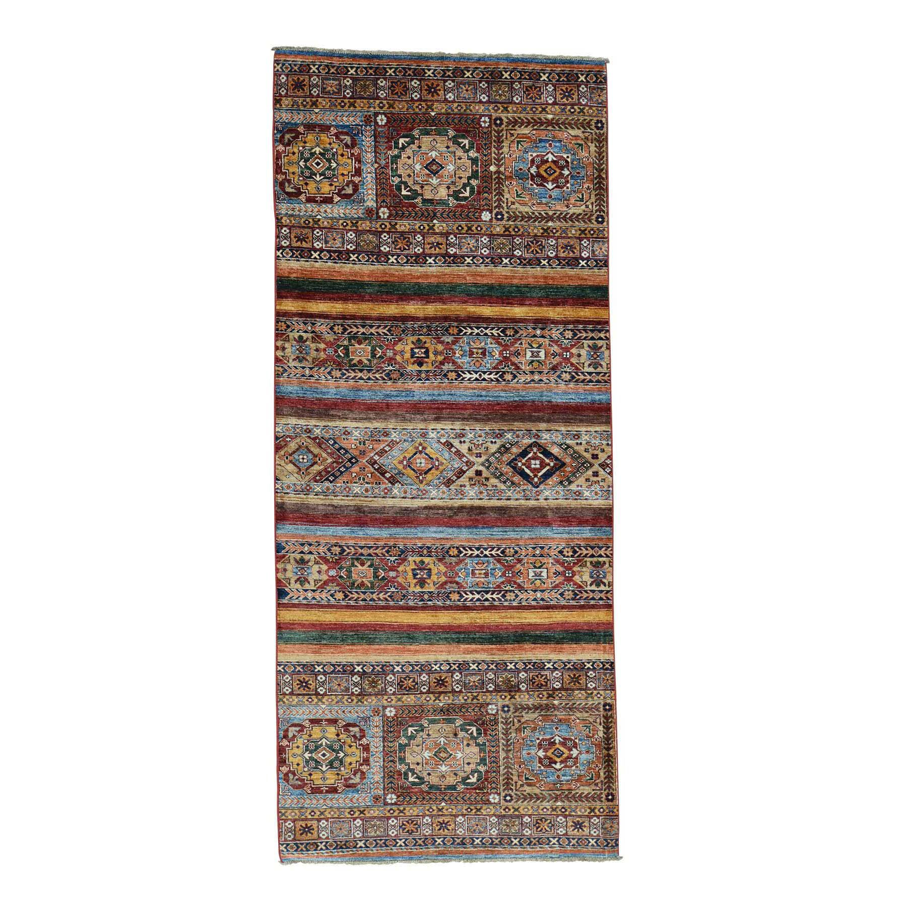 One-of-a-Kind Tillotson Hand-Knotted Brown Area Rug