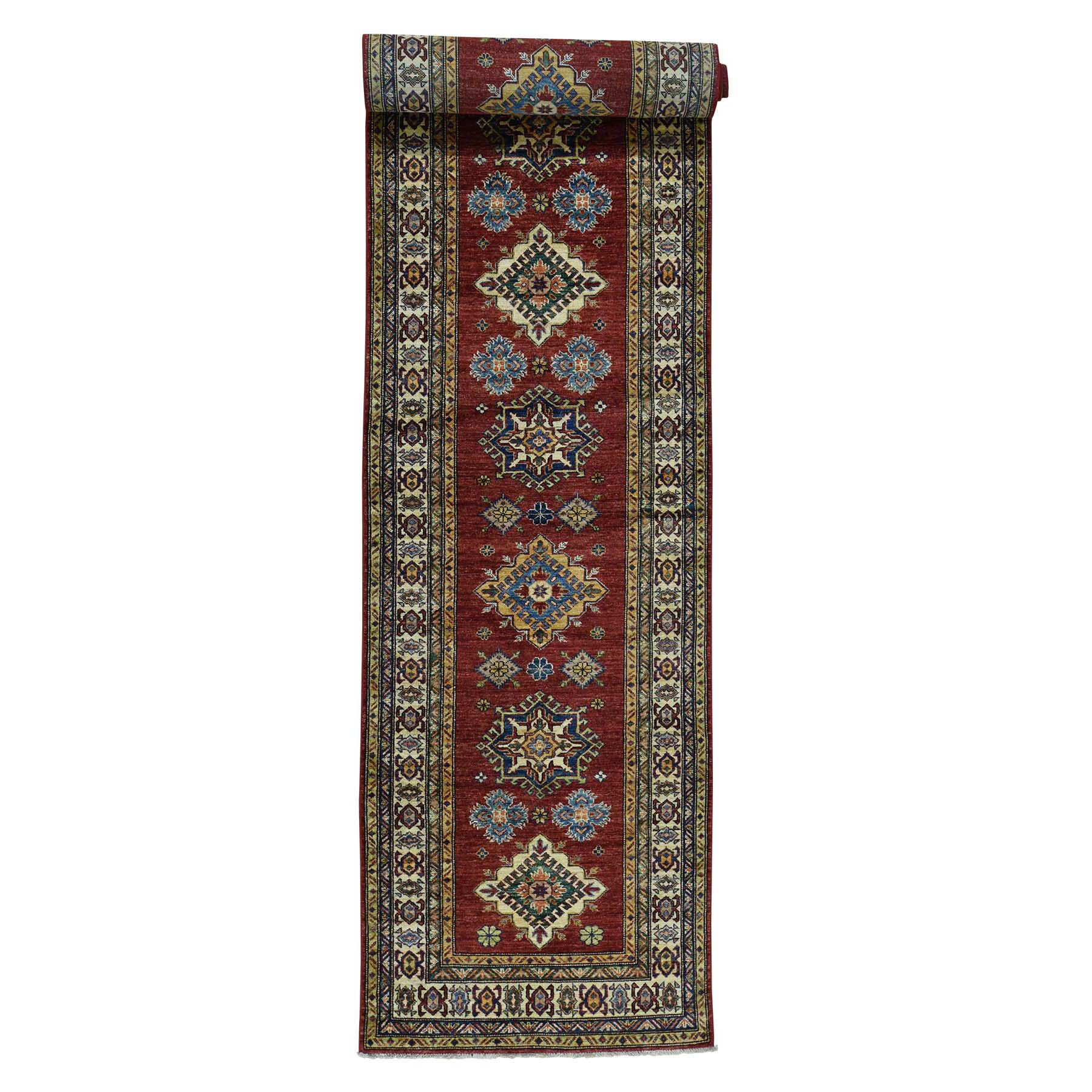 One-of-a-Kind Tillman Super Hand-Knotted Red Area Rug