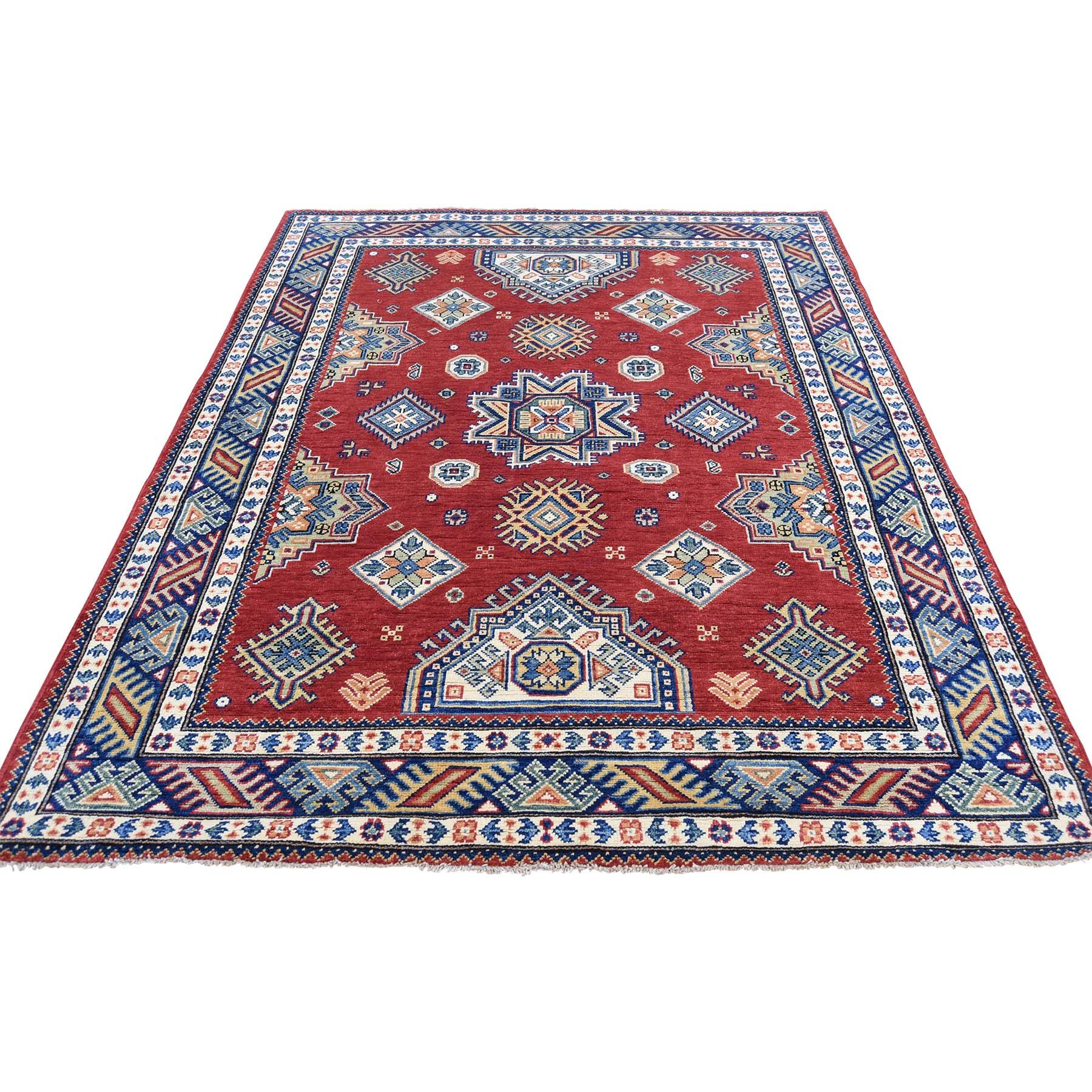 One-of-a-Kind Tillman Special Hand-Knotted Red Area Rug
