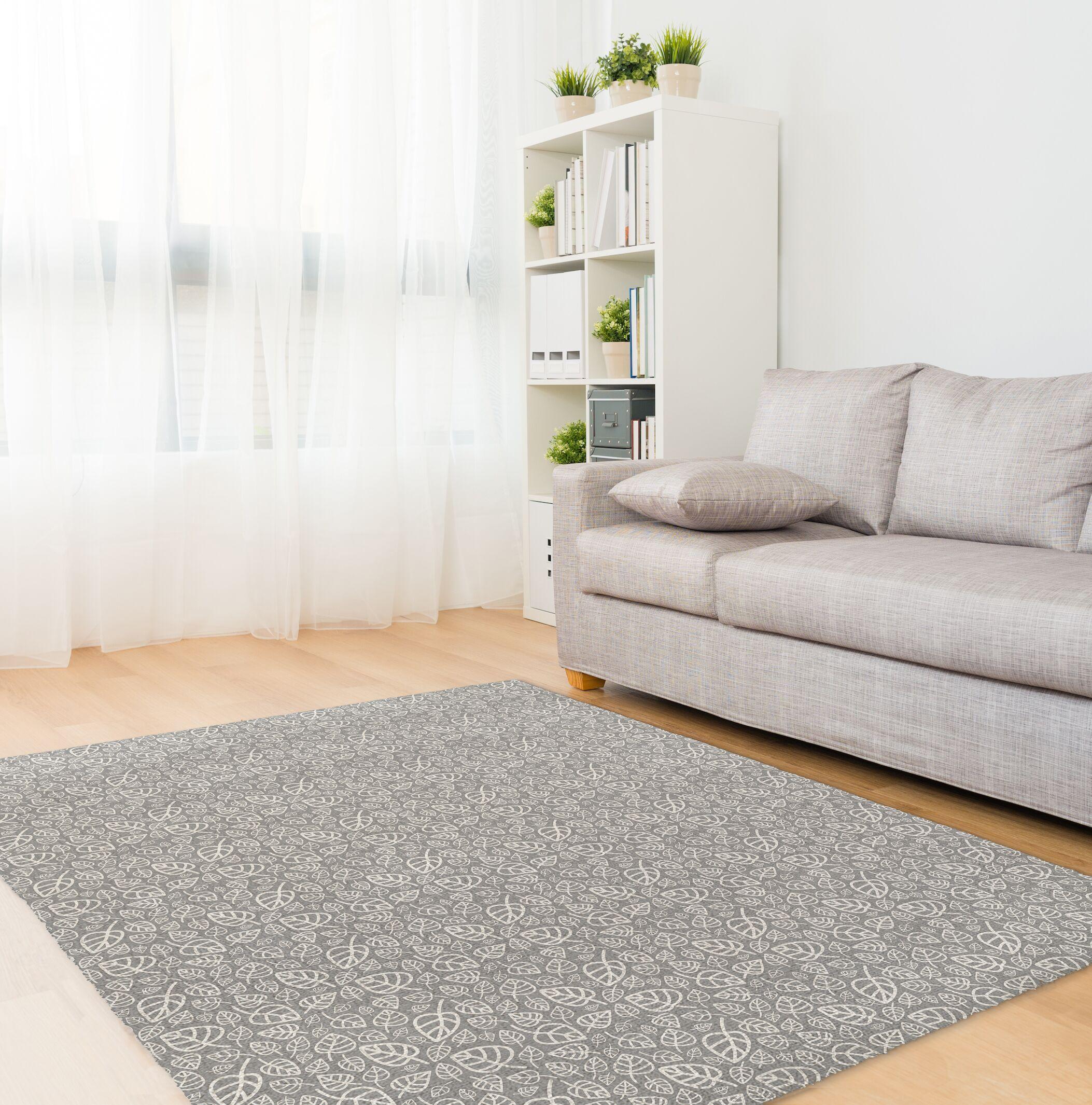 Decarlo Gray Area Rug Rug Size: Rectangle 5' x 7'