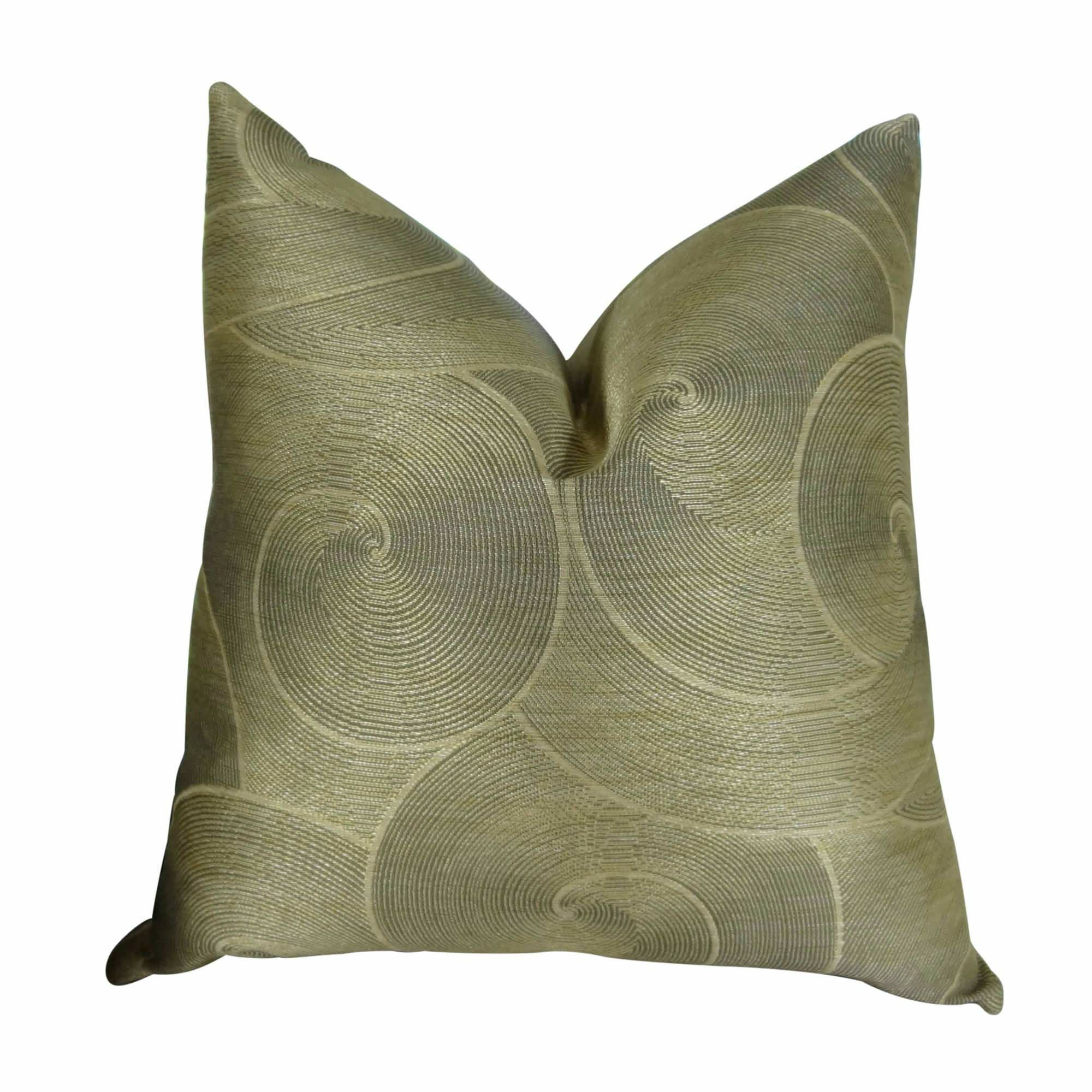 Jorgenson Muted Pewter Stardust Luxury Pillow Fill Material: Cover Only - No Insert, Size: 24