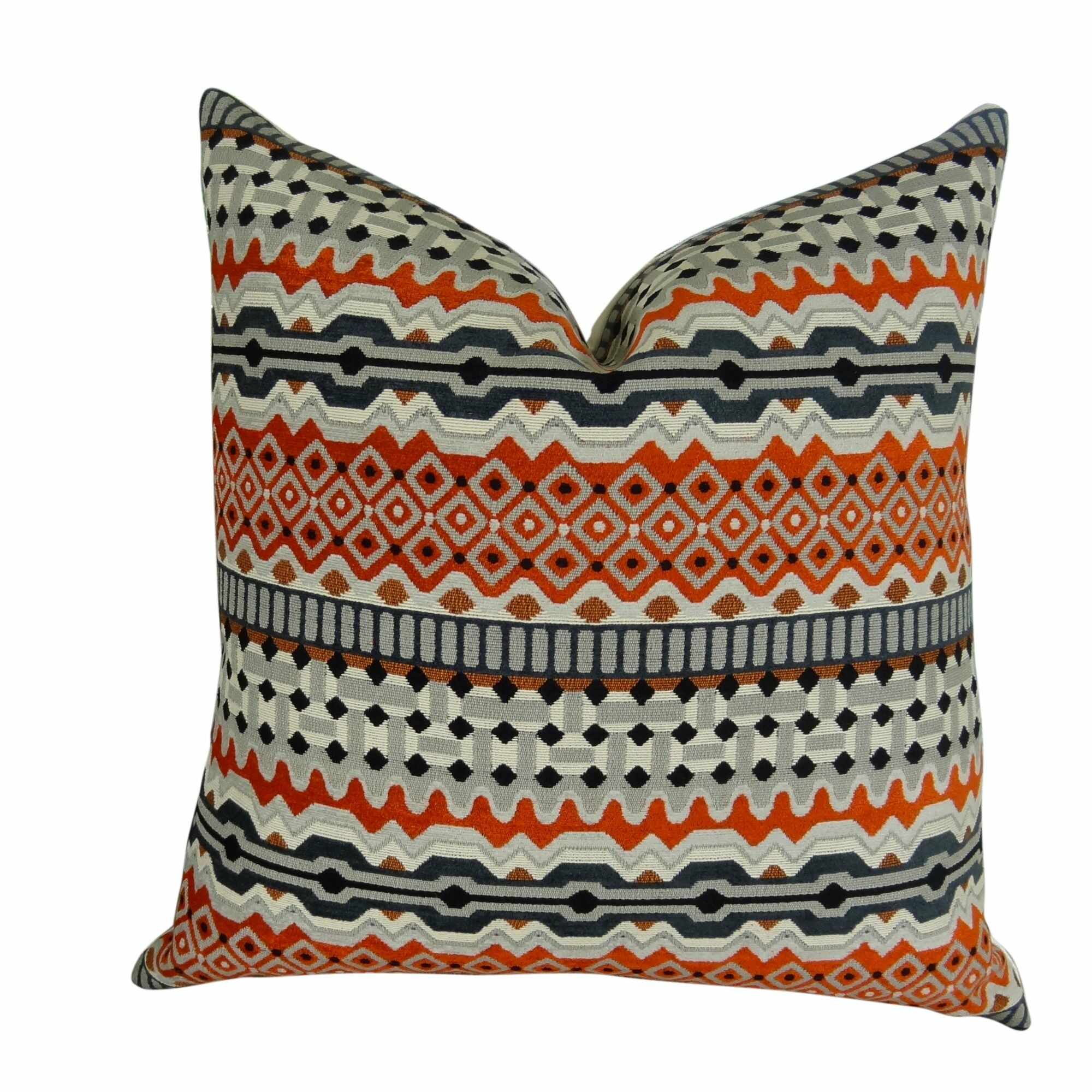 Pinero Luxury Pillow Fill Material: Cover Only - No Insert, Size: 20