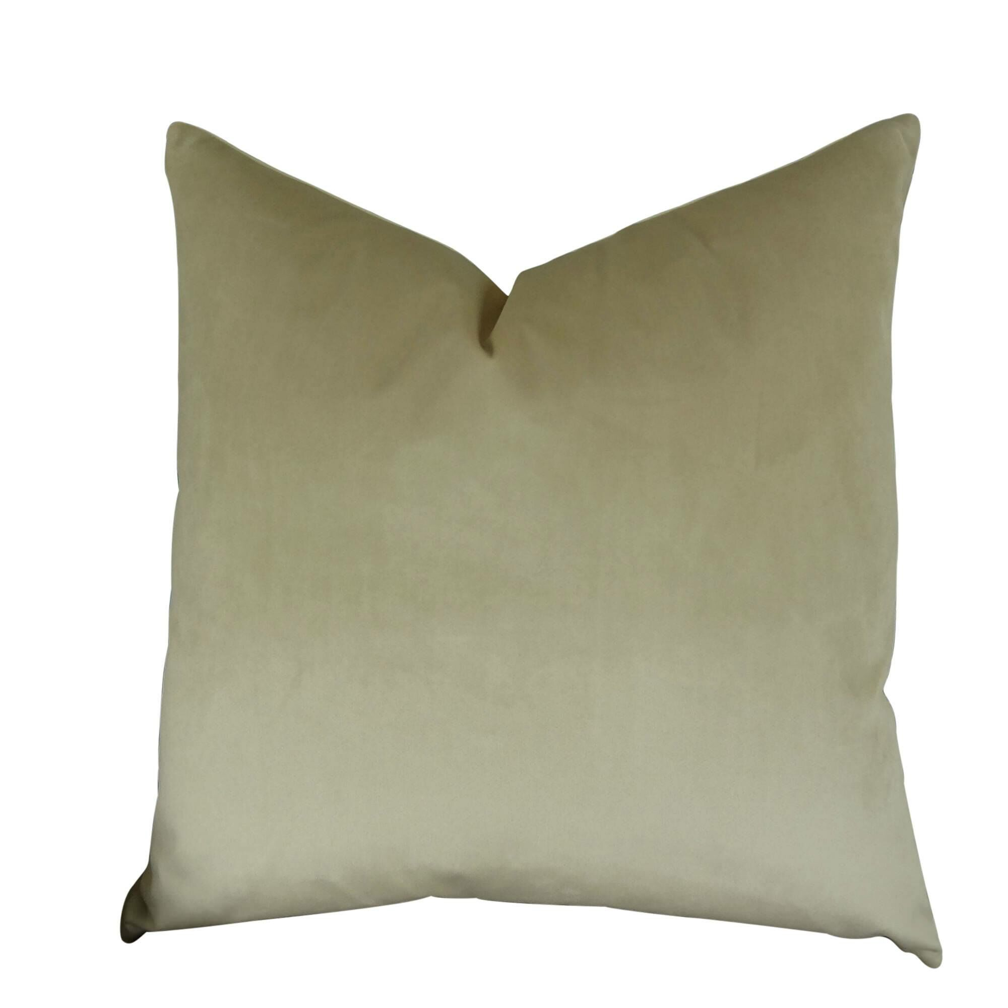 Kimsey Solid Luxury Pillow Fill Material: H-allrgnc Polyfill, Size: 18