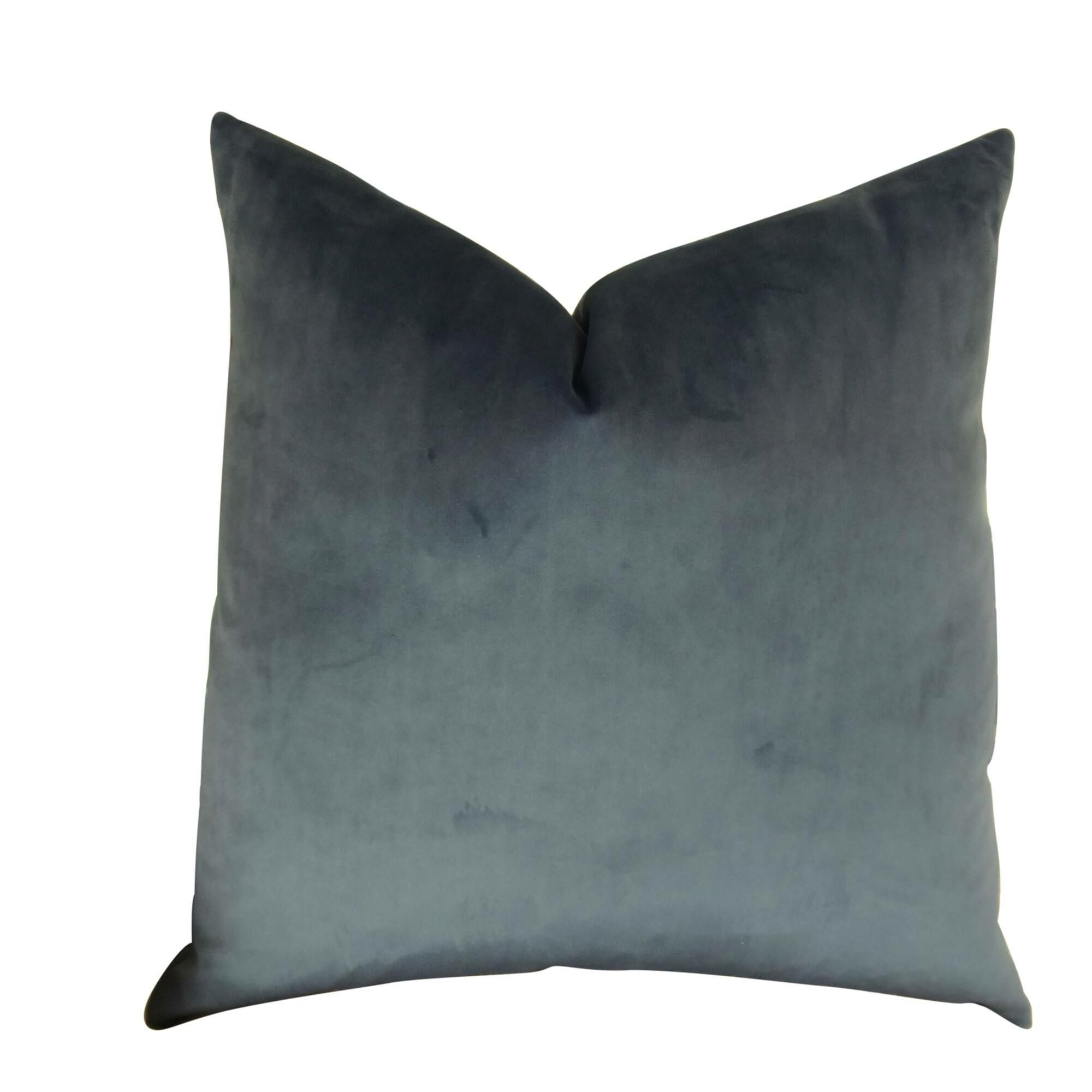 Kimsey Solid Luxury Pillow Fill Material: Cover Only - No Insert, Size: 20