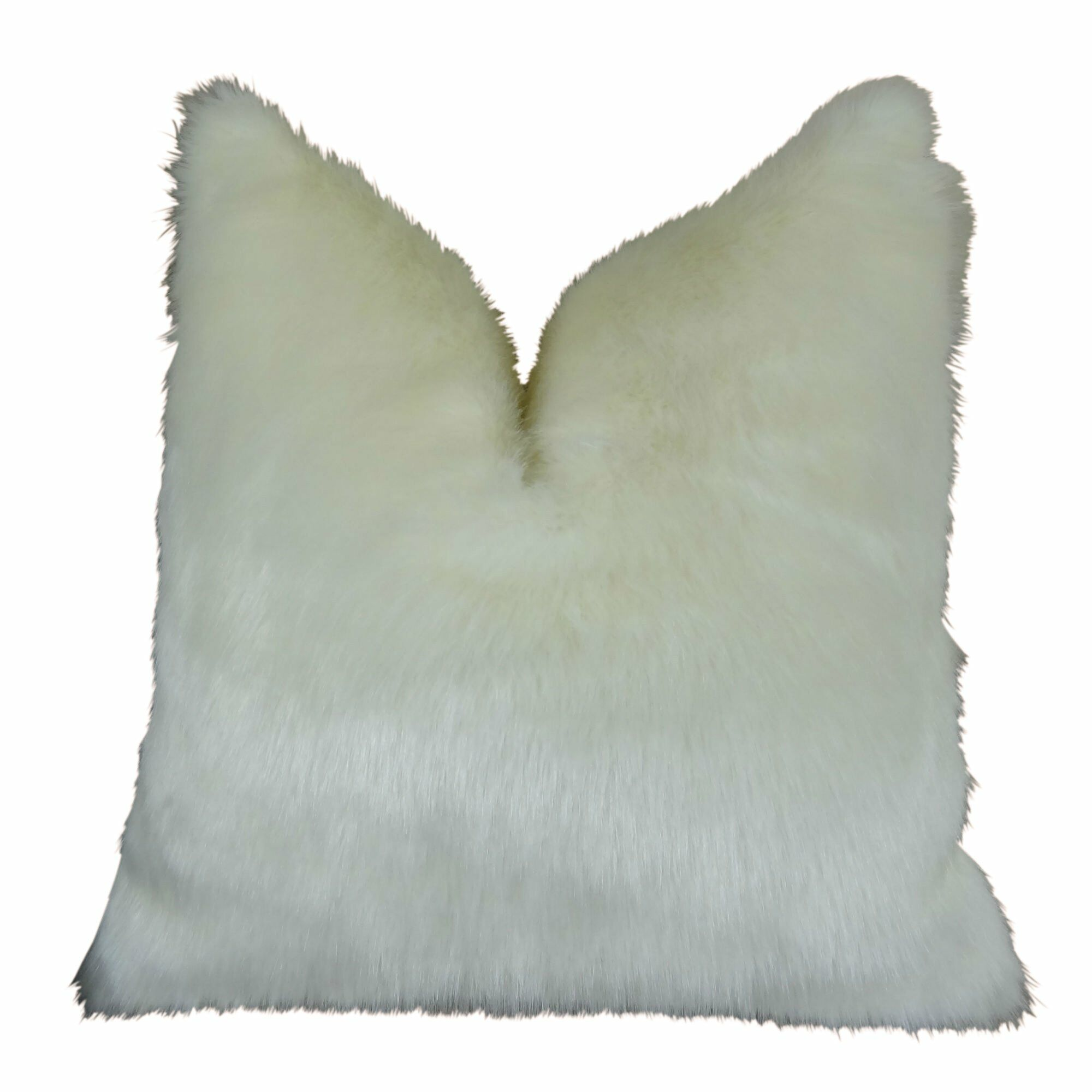 Jourdan Mink Faux Fur Pillow Size: 20