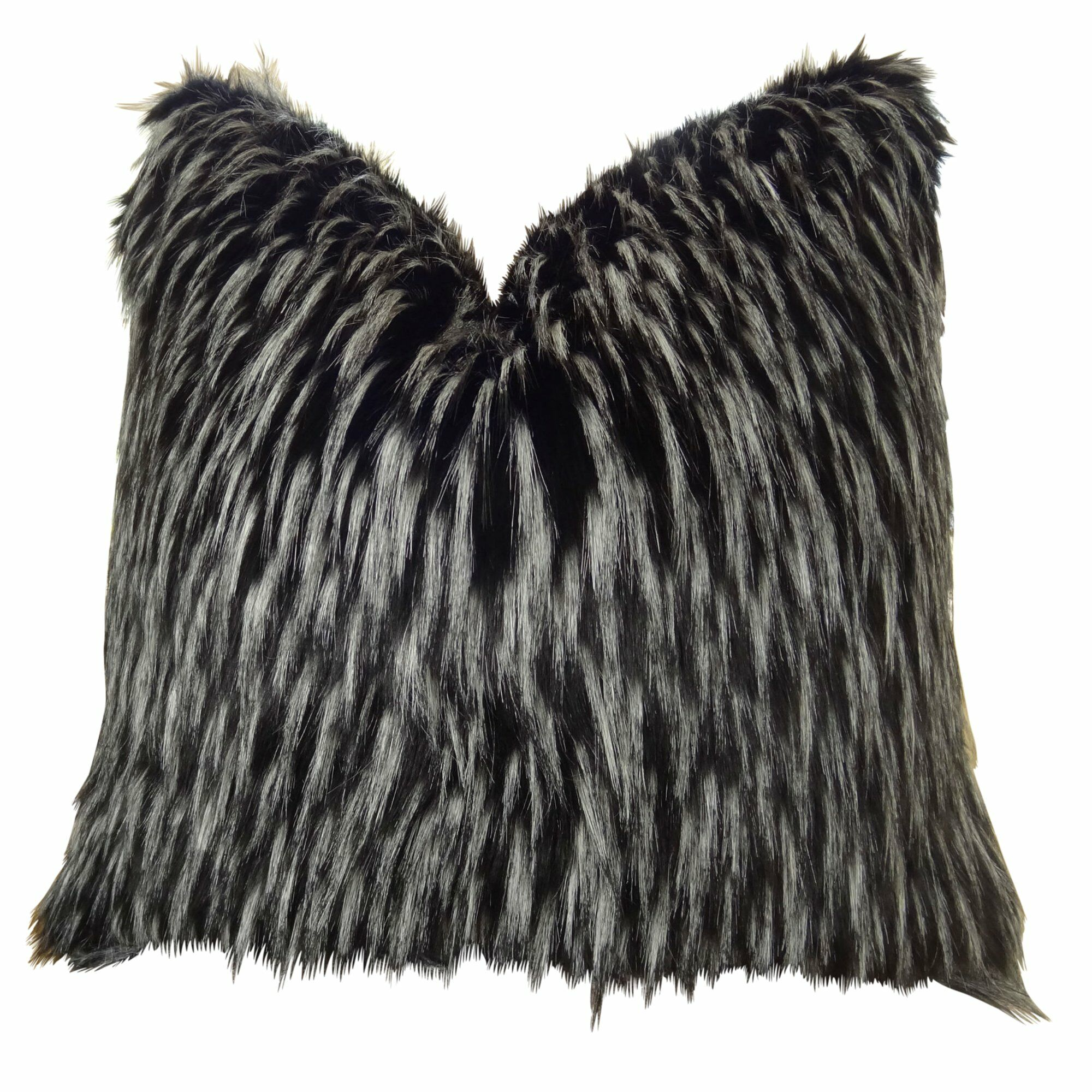 Josue Faux Fur Pillow Size: 18