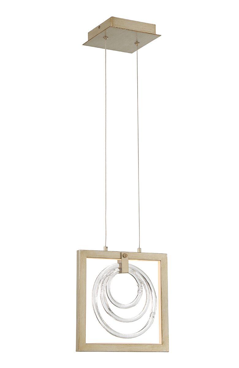 Luman Glass Rings 1-Light  LED  Pendant