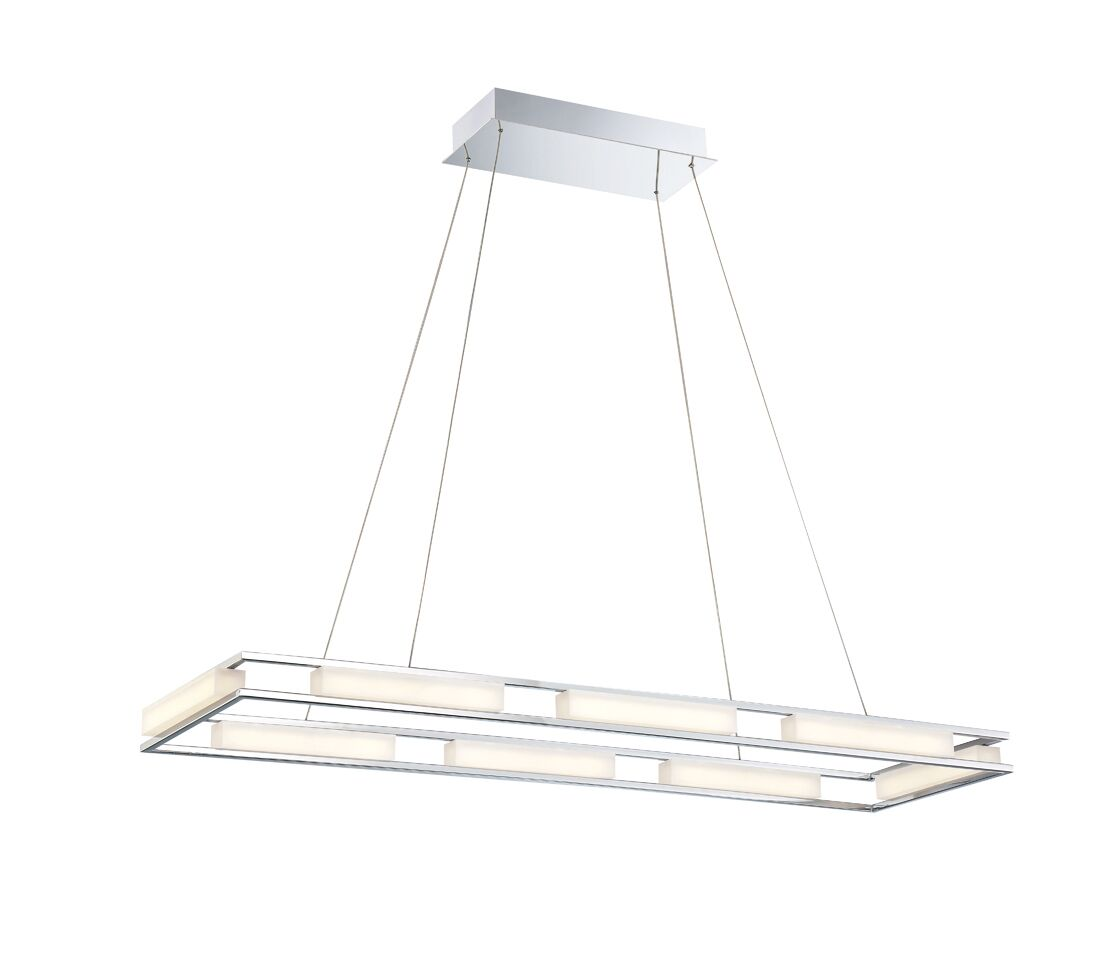 Sturtz 8-Light LED Geometric Chandelier